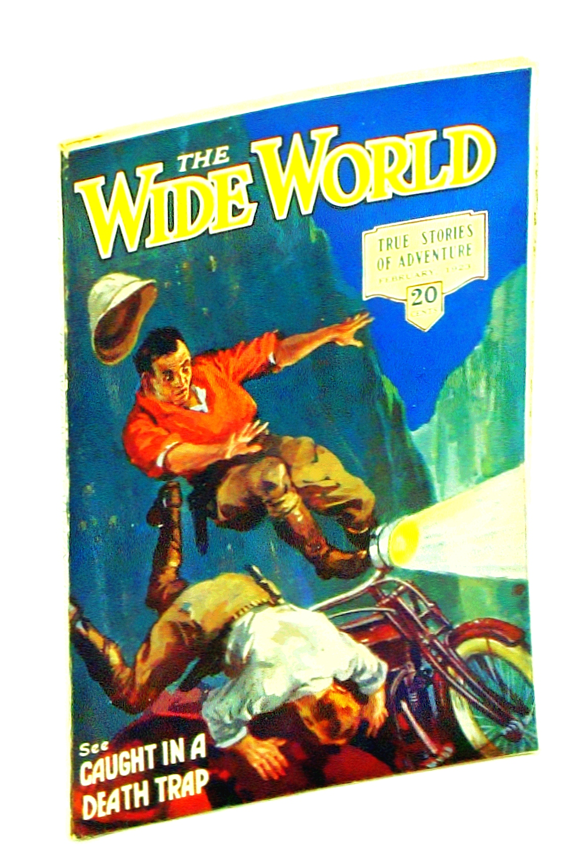 Image for The Wide World Magazine - The Magazine for Everybody, February [Feb.] 1923, Vol. 50, No. 298: The Soul of Burma