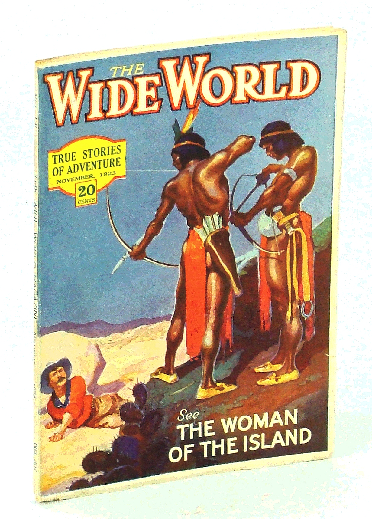 Image for The Wide World Magazine - True Stories of Adventure, November [Nov.] 1923, Vol. LI, No. 307: The Woman of the Island
