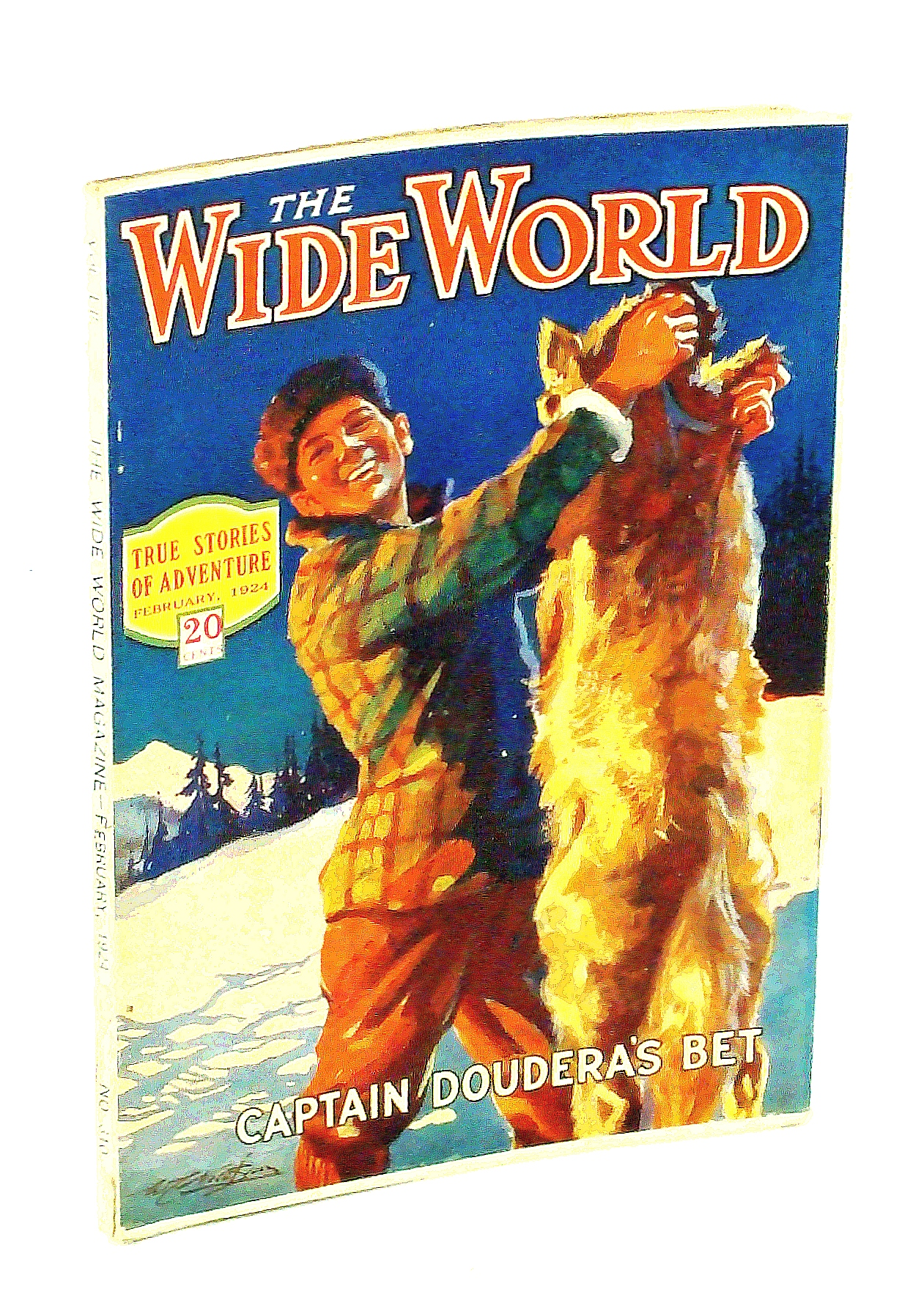 Image for The Wide World Magazine - True Stories of Adventure, February [Feb.] 1924, Vol. LII, No. 310: On Niagara's Brink / An Englshwoman in Upper Egypt