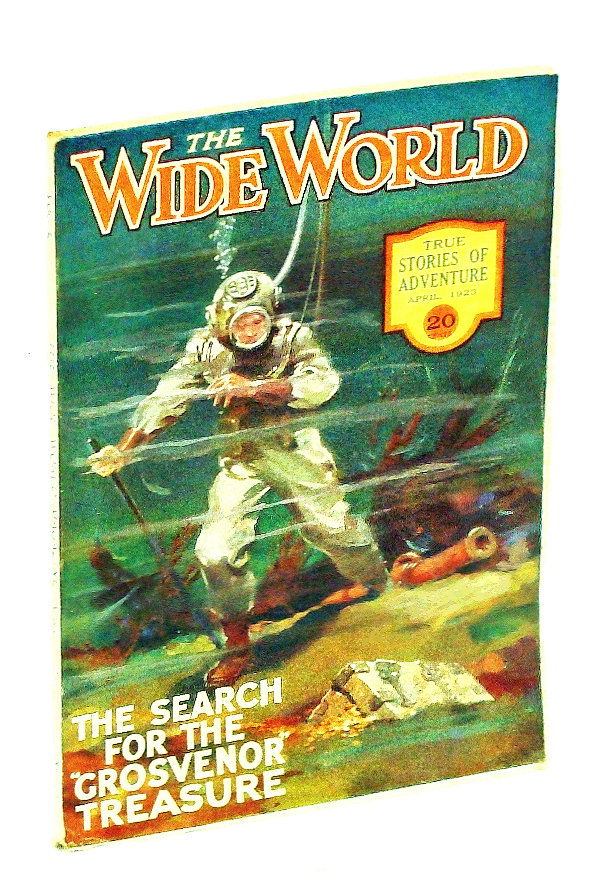 Image for The Wide World Magazine - True Stories of Adventure, April [Apr.] 1923, Vol L, No. 300: Search for the Grosvenor Treasure