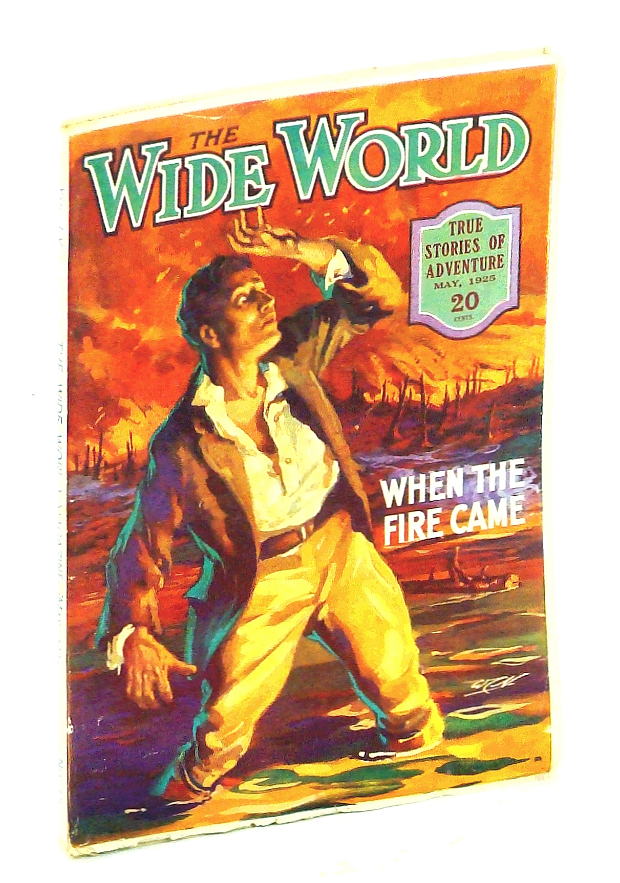 Image for The Wide World  Magazine, True Stories of Adventure, May, 1925, Vol LV, No. 325: Early California Seaplane Fishing / Wild Tribes of the Amazon