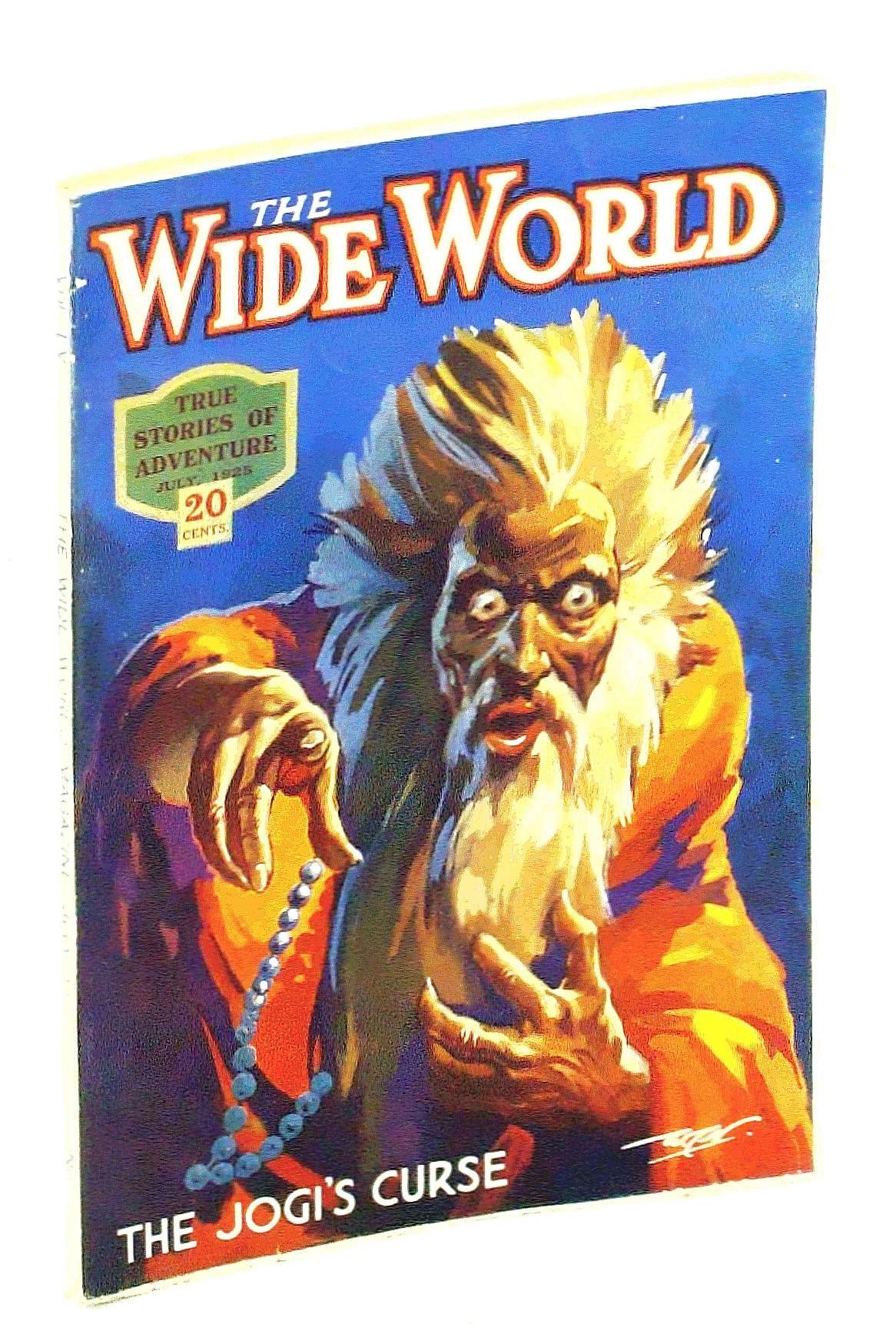 Image for The Wide World  Magazine, True Stories of Adventure, July, 1925, Vol LV, No. 327: The Jogi's Curse / Two Years in Borneo / Forbidden Nepal