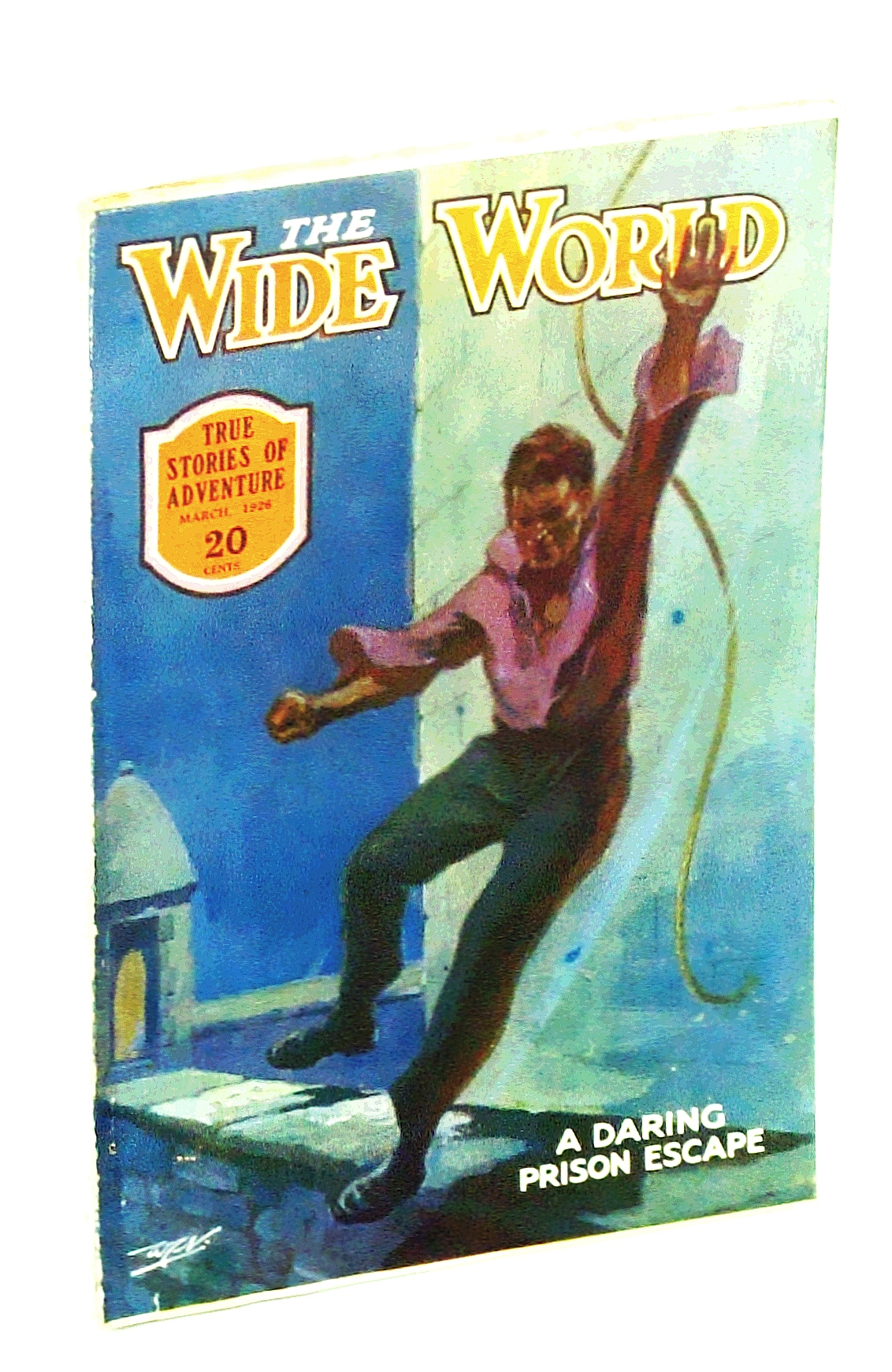 Image for The Wide World  Magazine, True Stories of Adventure, March [Mar.] 1926, Vol LVI, No. 335: The Seminoles of Florida / The Wild Tribes of Malaya / Tilden Dakin
