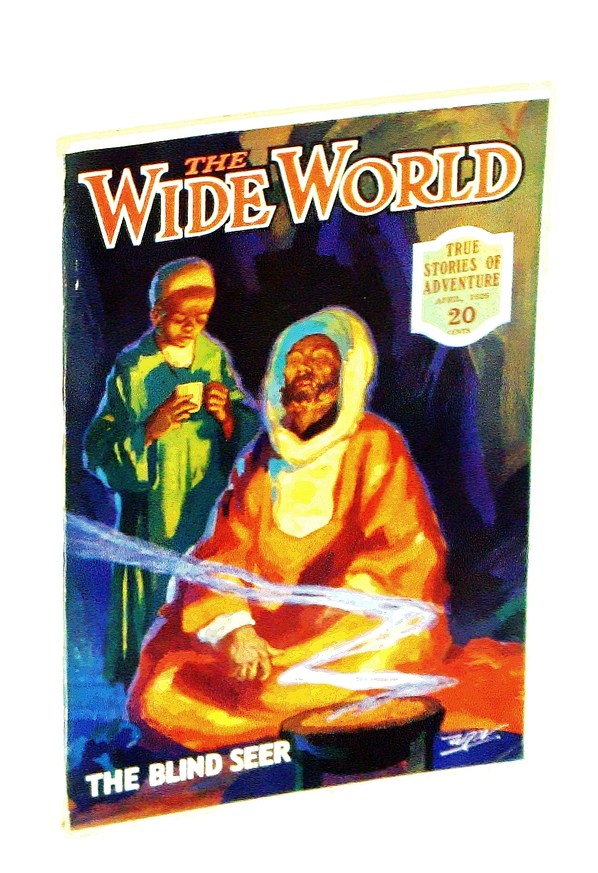 Image for The Wide World Magazine - True Stories of Adventure, April [Apr.] 1926, Vol. LVI, No. 336: On Patrol in Cannibal Papua