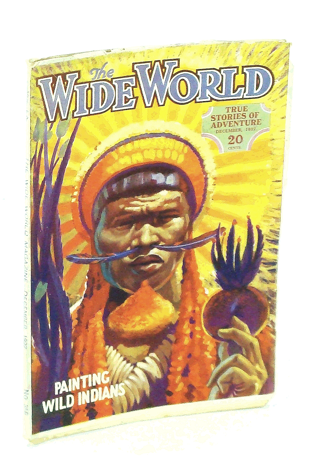 Image for The Wide World Magazine - True Stories of Adventure, December [Dec.] 1927, Vol. LX, No. 356: Through Arctic Seas / Hunting the Long-Haired Chinese Tiger
