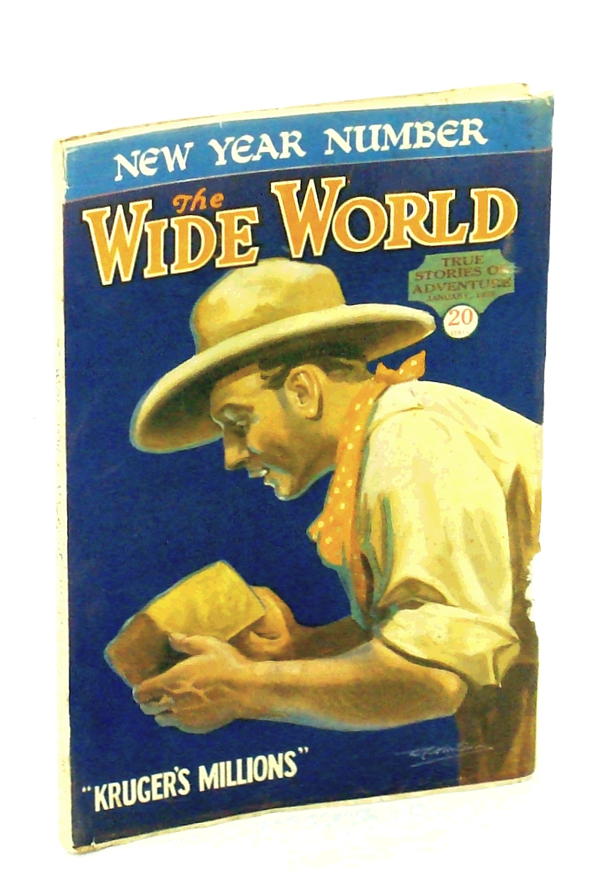Image for The Wide World Magazine - True Stories of Adventure, January [Jan.] 1928, Vol. LX, No. 357: Through Arctic Seas / Across Central Africa