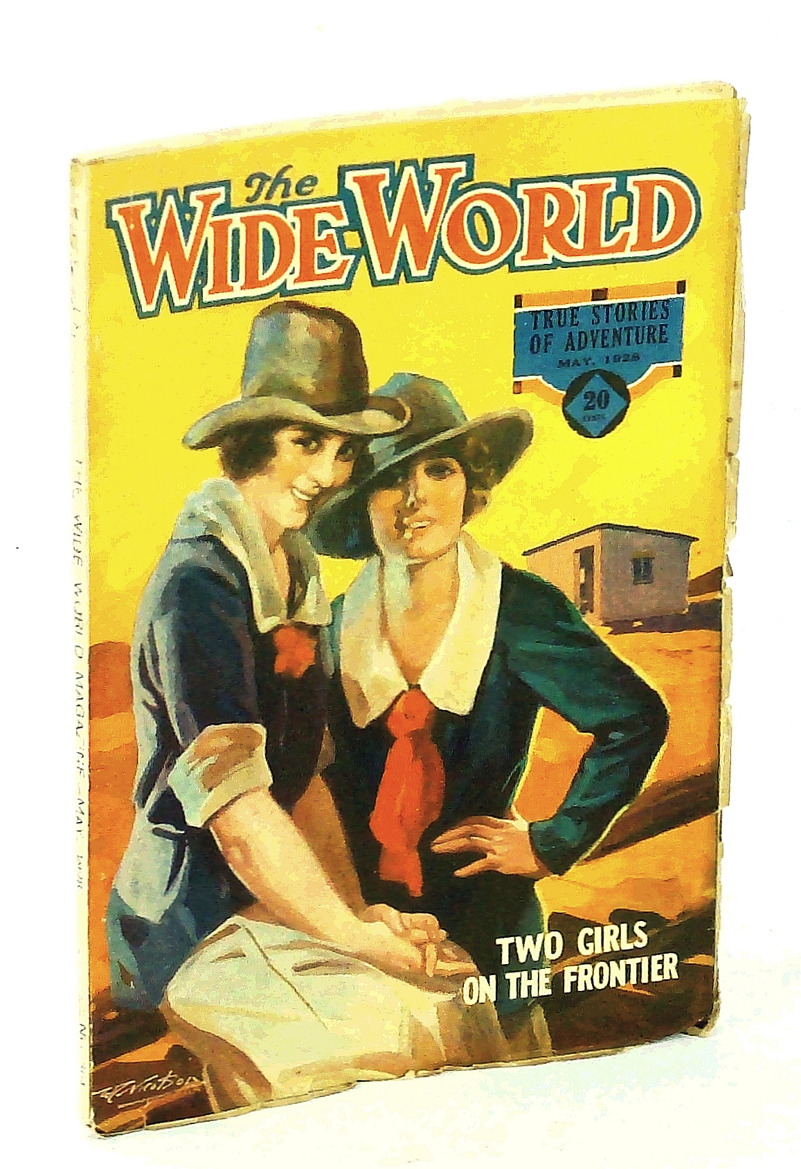 "Image for The Wide World Magazine - True Stories of Adventure, May 1928, Vol. LXI, No. 361: Hunting the ""Moonshiners"" / Fire-Walkers of Mauritius / America's Murder Gangs Unmasked"