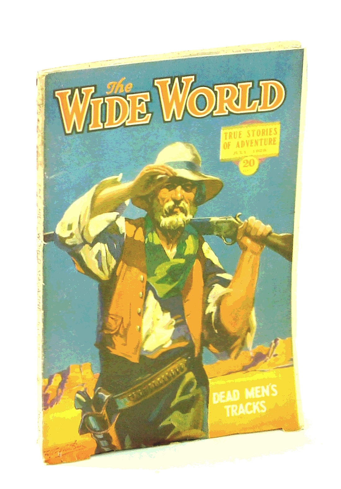 Image for The Wide World Magazine, True Stories of Adventure, July 1928: Vol. LXI  No. 363: To Lhasa in Disguise / Down The Colorado River, The World's Most Dangerous