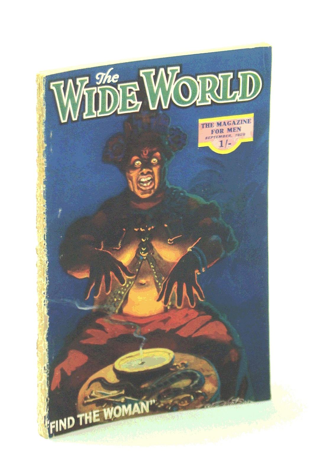 Image for The Wide World Magazine, True Stories of Adventure, September [Sept.] 1929, Vol. LXIII, No. 378: At Grips With the Desert / My Trip to Devil's Island