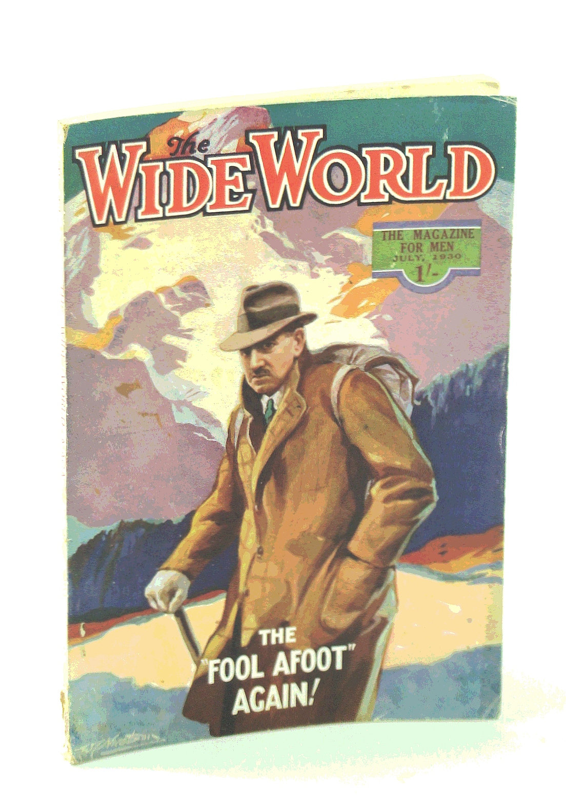 "Image for The Wide World Magazine, True Stories of Adventure, July 1930, Vol. 65, No. 388: The ""White Indians"" of North Carolina / The Opium-Smugglers / Nepal Exploration"