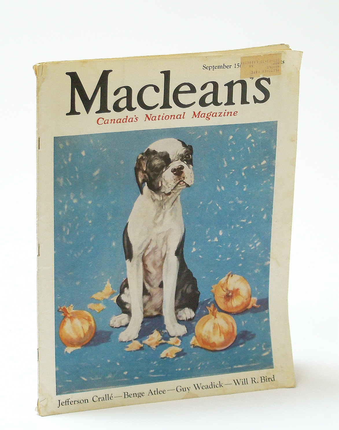 Image for Maclean's, Canada's National Magazine, September (Sept.) 15, 1933, Vol. 46, No. 18 - The Aemilius Jarvis Conspiracy Case