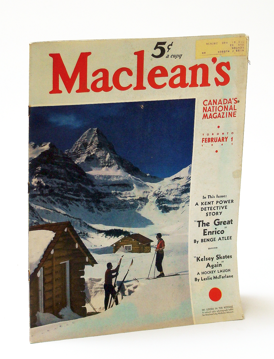 Image for Maclean's, Canada's National Magazine, February (Feb.) 1, 1941, Vol. 54, No. 3 - This is Kingston, Ontario