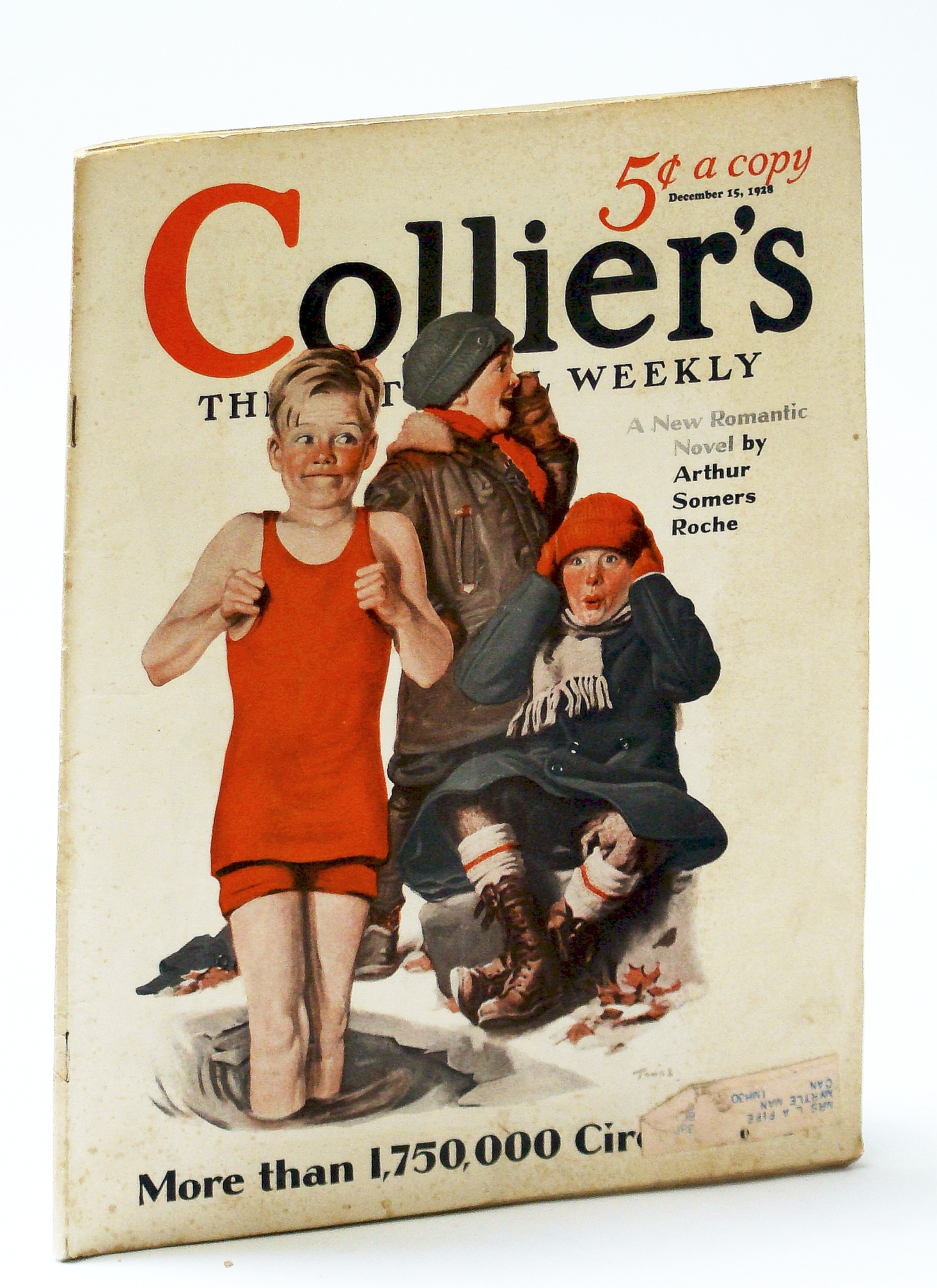 Image for Collier's - The National Weekly (Magazine), December (Dec.) 15, 1928, Vol. 82, No. 24: Gus Edwards (Pt II) / President-Elect Herbert Hoover