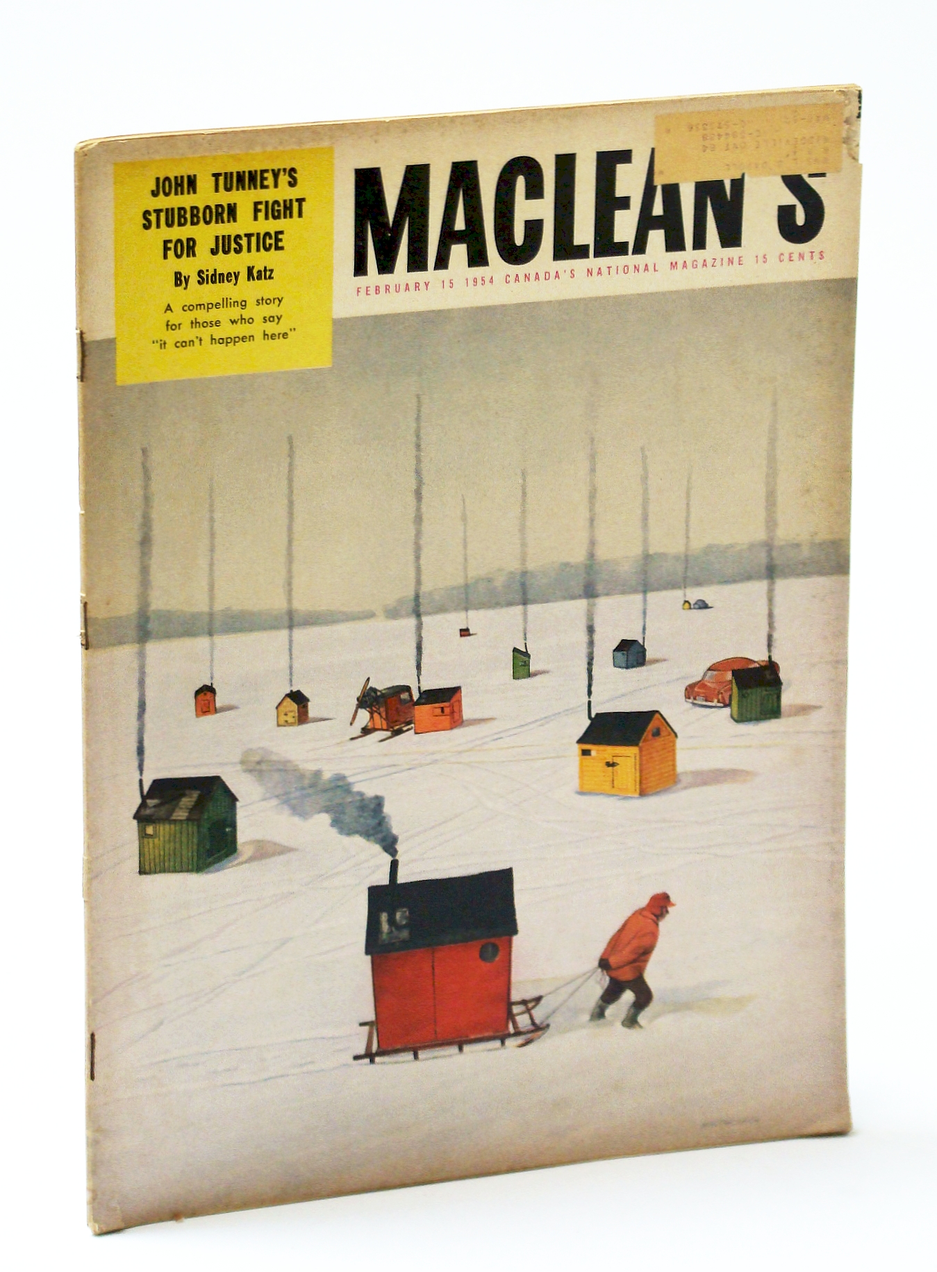 Image for Maclean's Magazine, February (Feb.) 15, 1954 - John Tunney's Fight for Justice