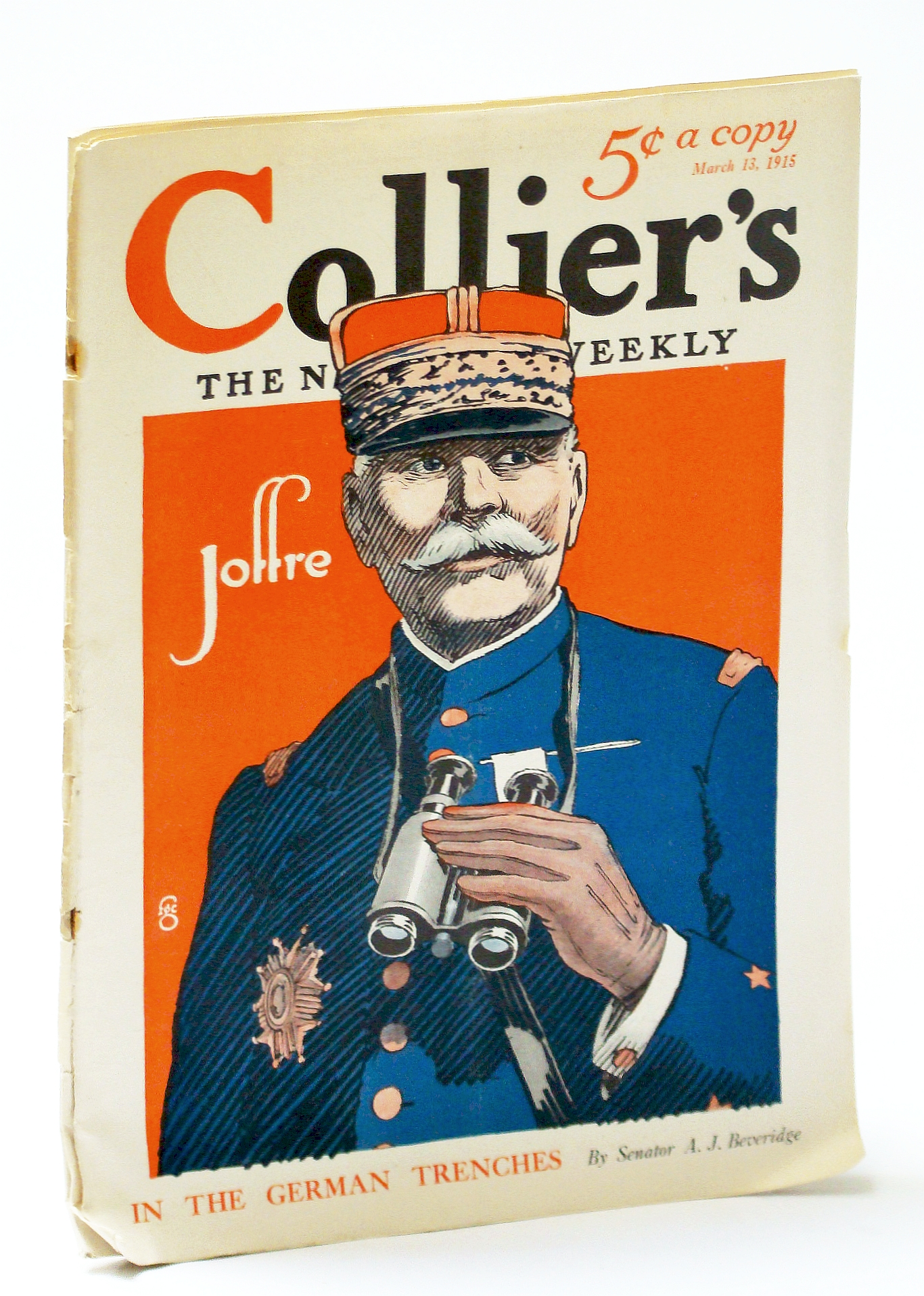 Image for Collier's, The National Weekly (Magazine), March (Mar.) 13, 1915, Vol. 54, No. 26 - In the German Trenches / General Joseph Joffre