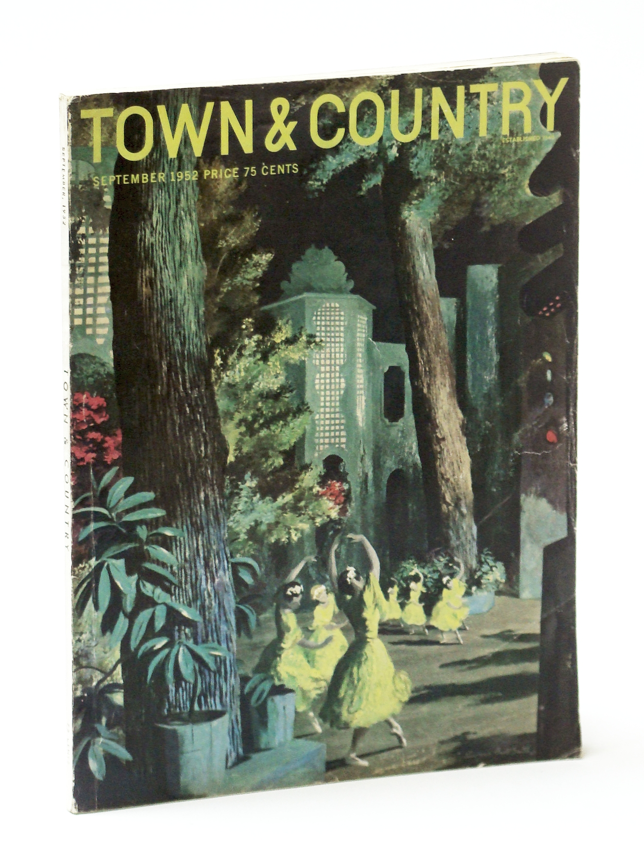 Image for Town & Country Magazine, September (Sept.) 1952, Vol. 106, No. 4360 - Special St. Louis Issue