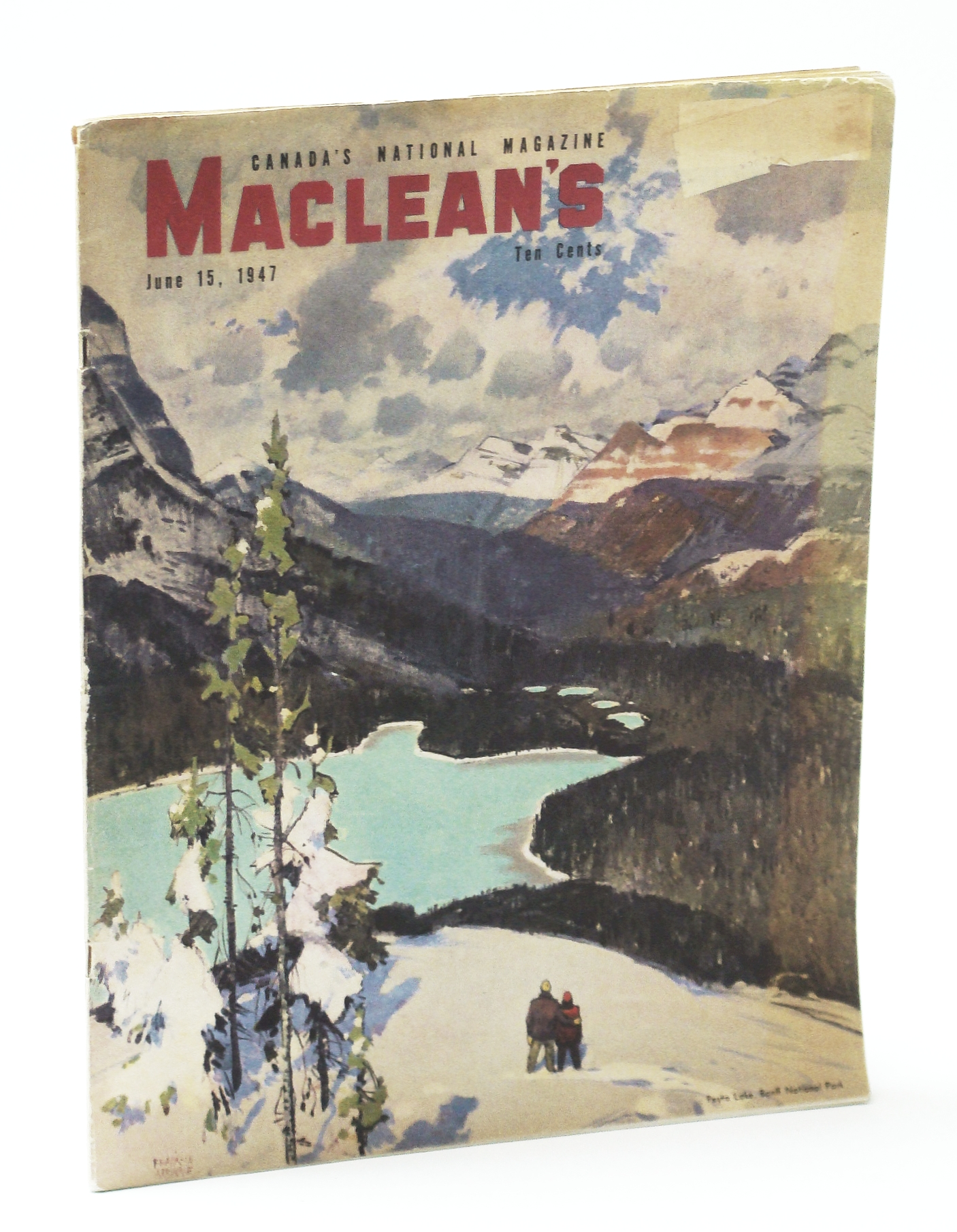 Image for Maclean's - Canada's National Magazine, June 15, 1947 - The Divorce Racket / Oil Boom-Town Leduc, Alberta