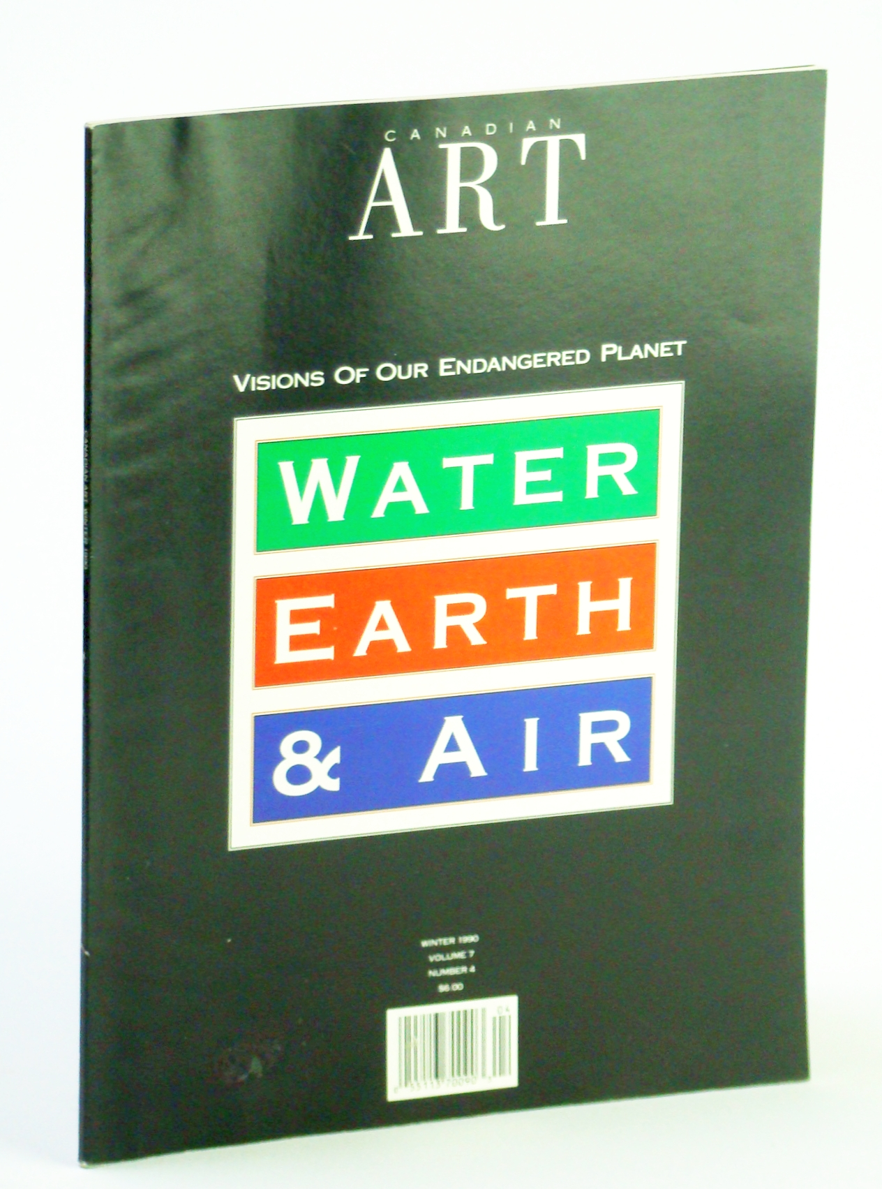 Image for Canadian Art (Magazine), Winter 1990, Volume 7, Number 4 - Visions of Our Endangered Planet
