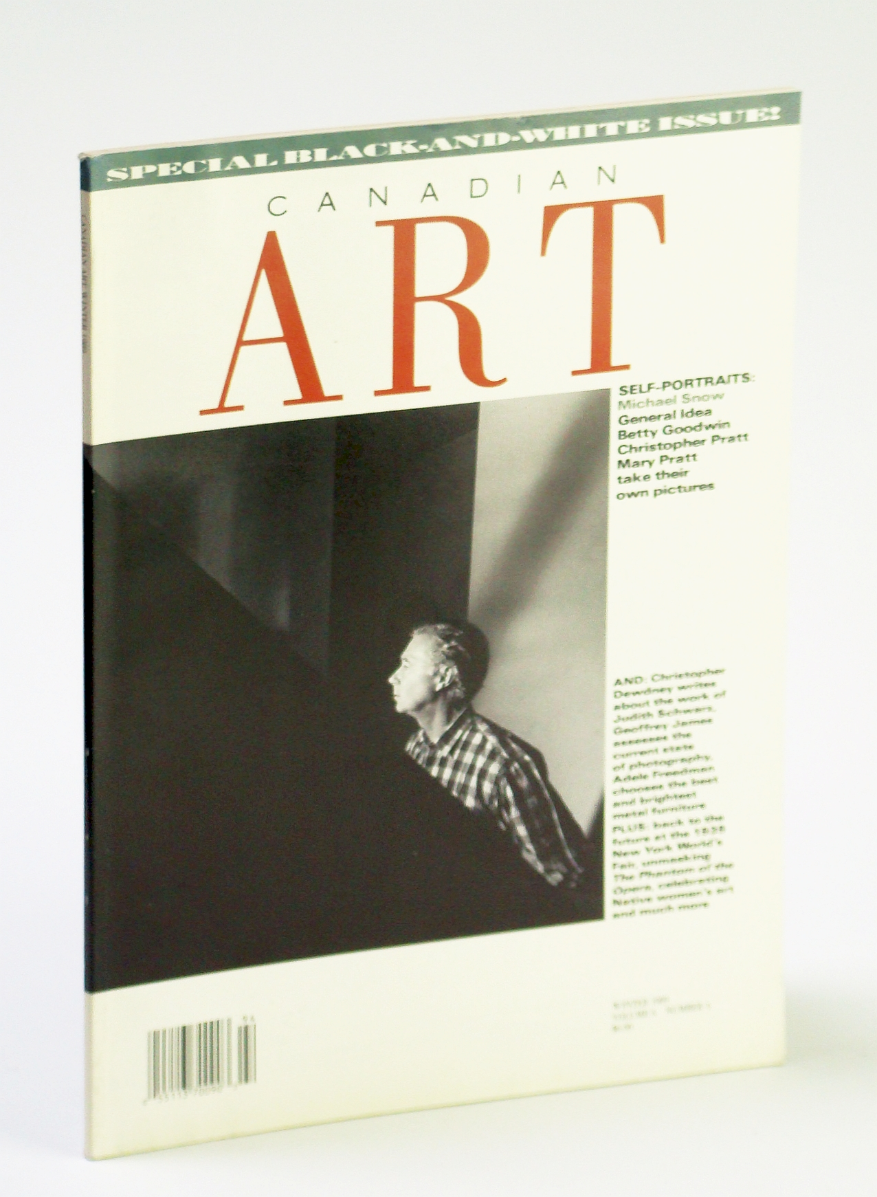 Image for Canadian Art (Magazine), Winter 1989, Volume 6, Number 4 - Special Black and White Issue