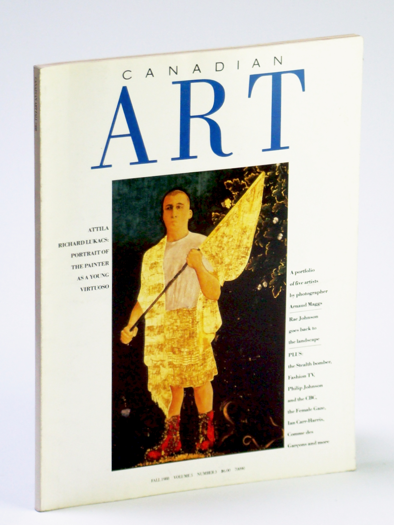 Image for Canadian Art (Magazine), Fall 1988, Volume 5, Number 3 - Attila Richard Lukacs