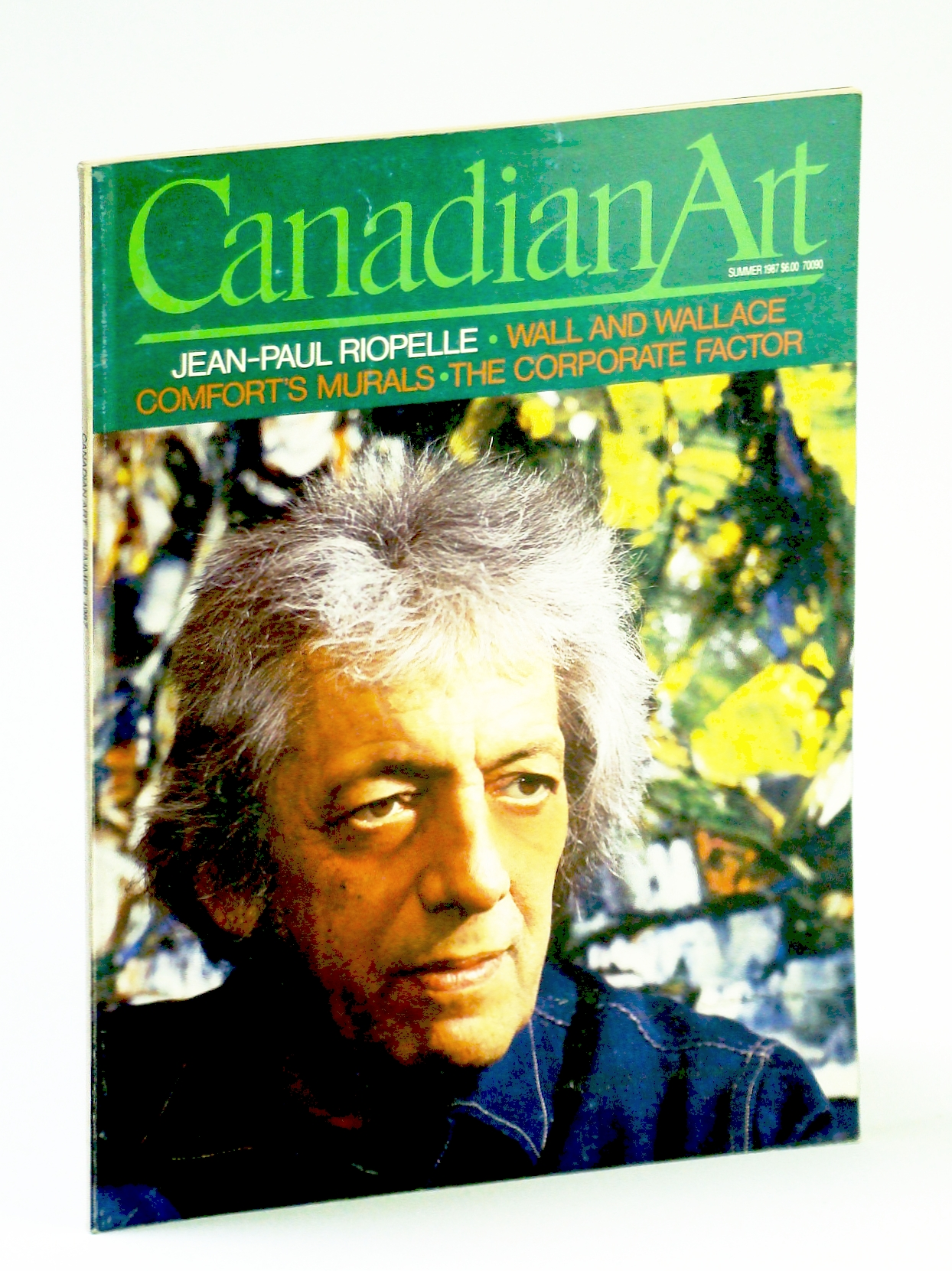 Image for Canadian Art (Magazine), Summer 1987, Volume 4, Number 2 - Charles Comfort's Murals / Jean-Paul Riopelle