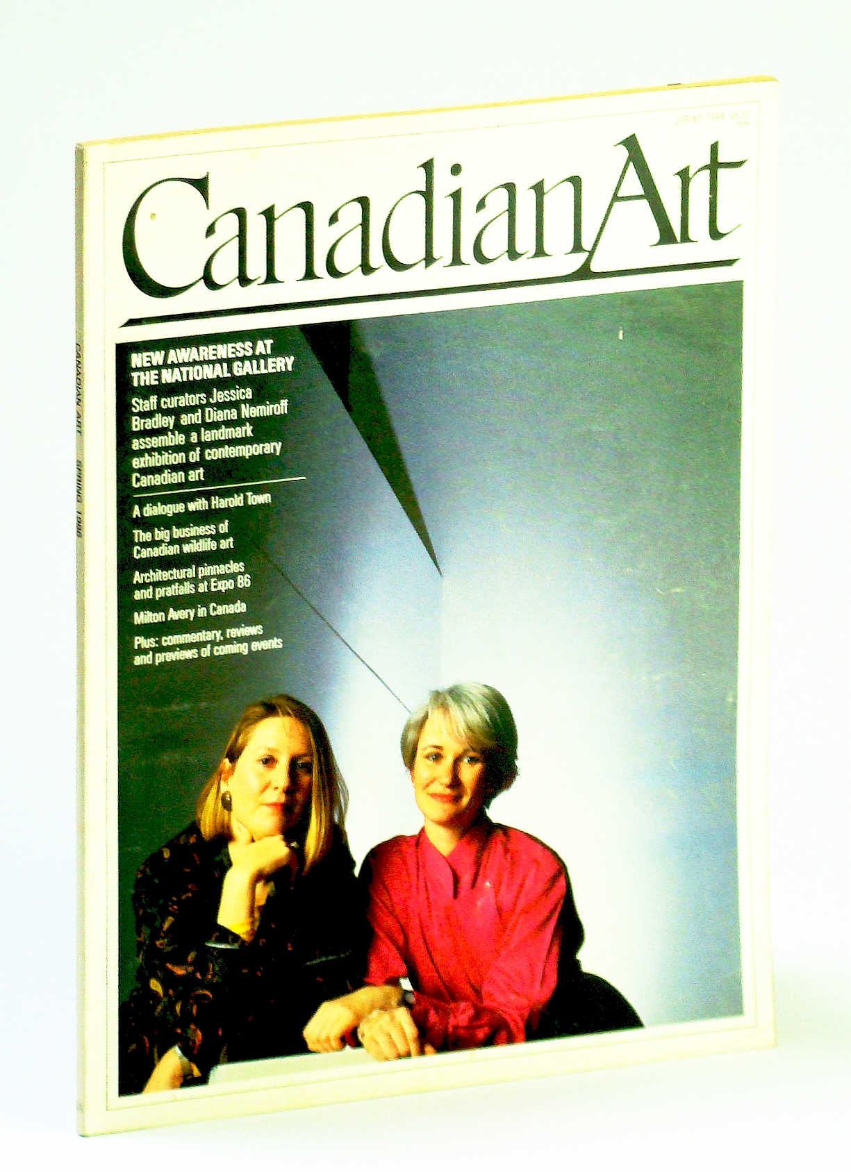 Image for Canadian Art (Magazine), Spring / March 1986, Volume 3, Number 1 - Harold Town / Donigan Cumming