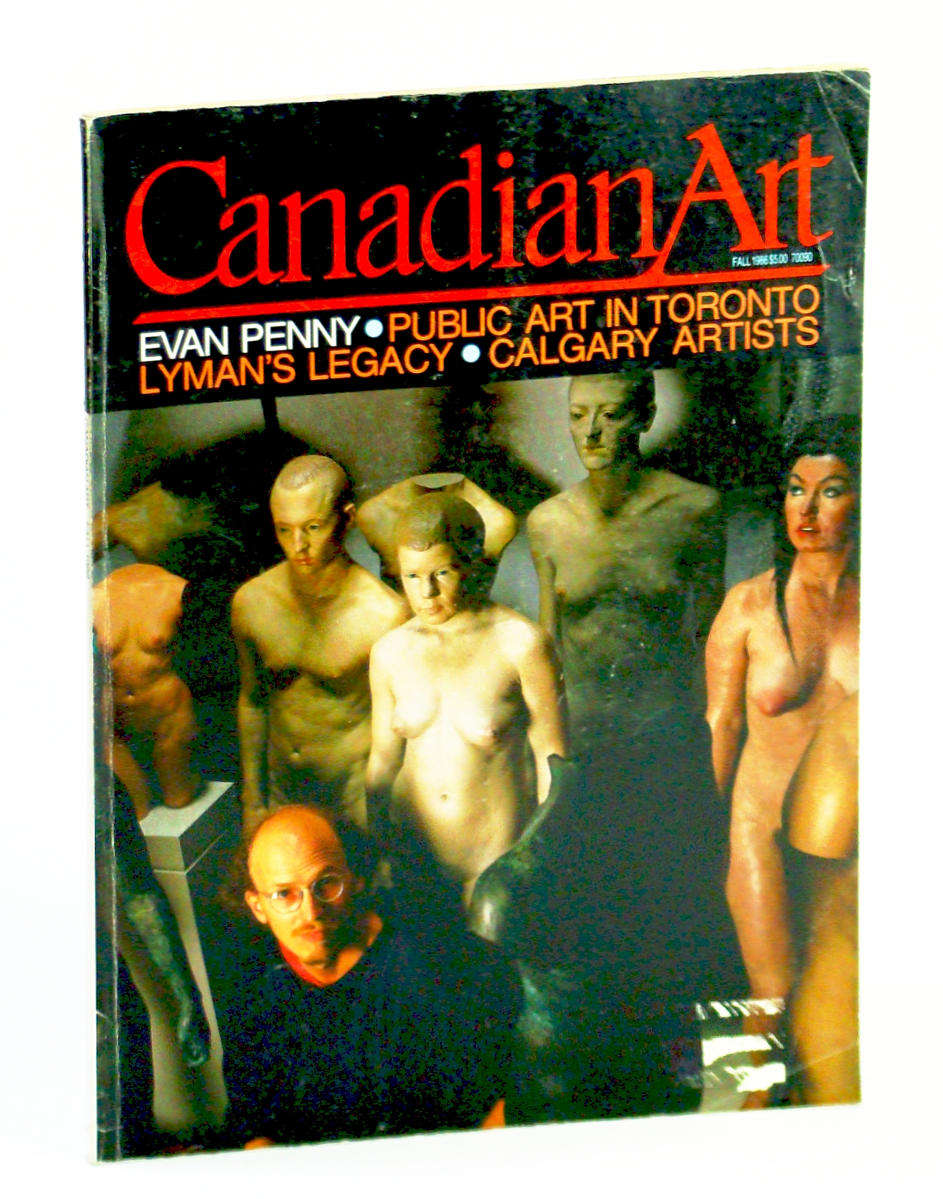 Image for Canadian Art (Magazine), Fall / September 1986, Volume 3, Number 3 - Evan Penny / John Lyman