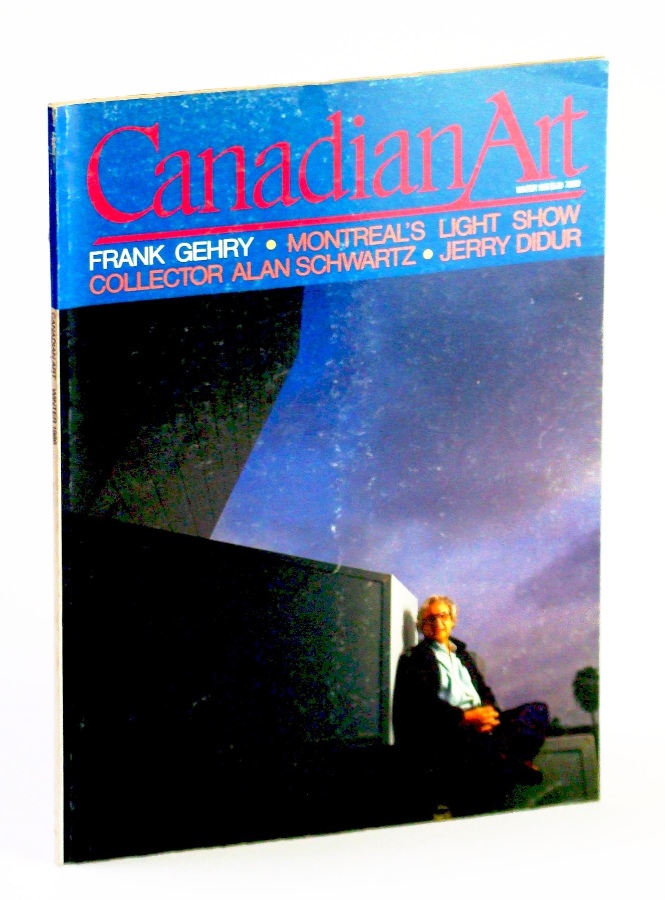 Image for Canadian Art (Magazine), Winter / December 1986, Volume 3, Number 4: Frank Gehry - Master Builder