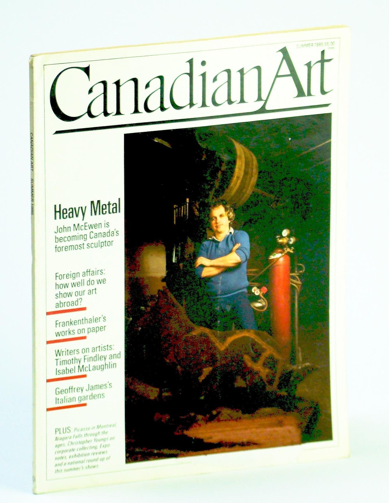 Image for Canadian Art (Magazine), Summer / June 1985, Volume 2, Number 2: Sculptor John McEwen