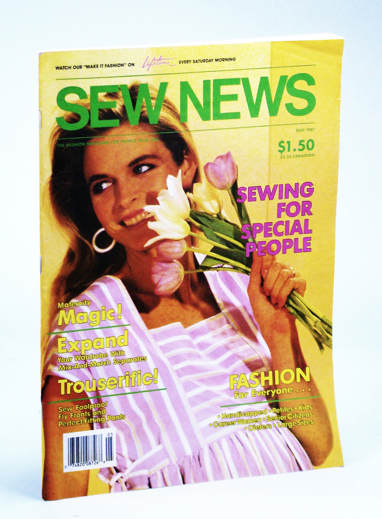 Image for Sew News Magazine - The Fashion Magazine for People Who Sew, Number 56, May 1987 - Maternity Magic