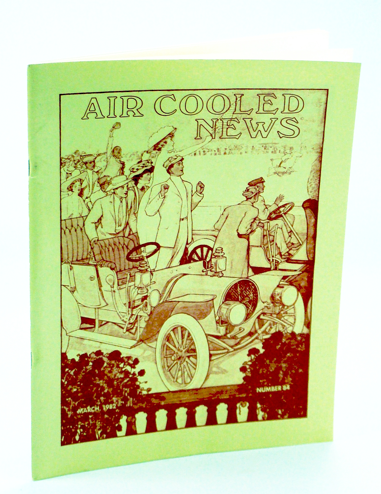 Image for Air Cooled News, Number 84, March [Mar.] 1982, Vol. XXVIII, No. 3 - Franklin Engines 1902-1909 / Howard Carey