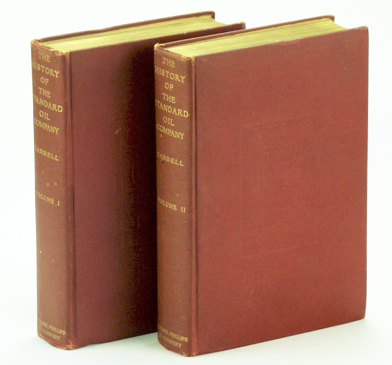 The History of The Standard Oil Company - First Edition, Complete in Two Volumes