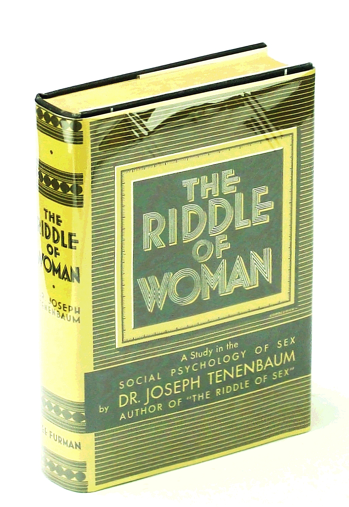 Image for The Riddle of Woman. a Study in the Social Psychology of Sex