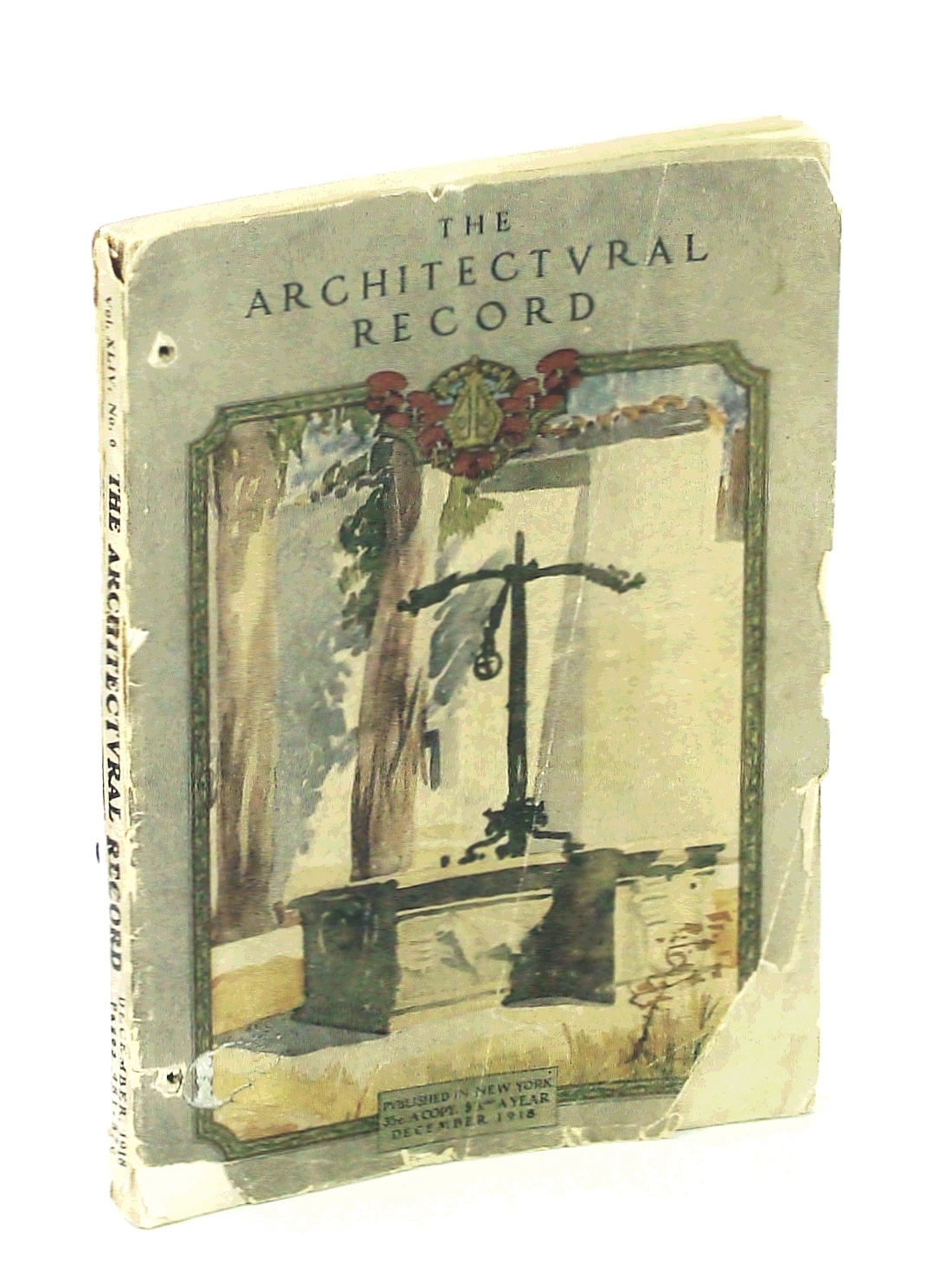 Image for The Architectural Record, December [Dec.] 1918, Vol. XLIV, No. 6, Serial No. 243 - The Residence of Allan S. Lehman, Esq.