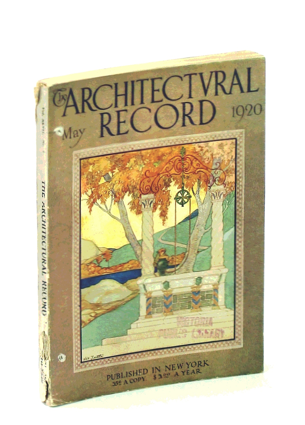 Image for The Architectural Record, Vol, XLVII, No. 5, May 1920, Serial No. 260 - The Gardens of Charles M. Schwab / Arthur Byne
