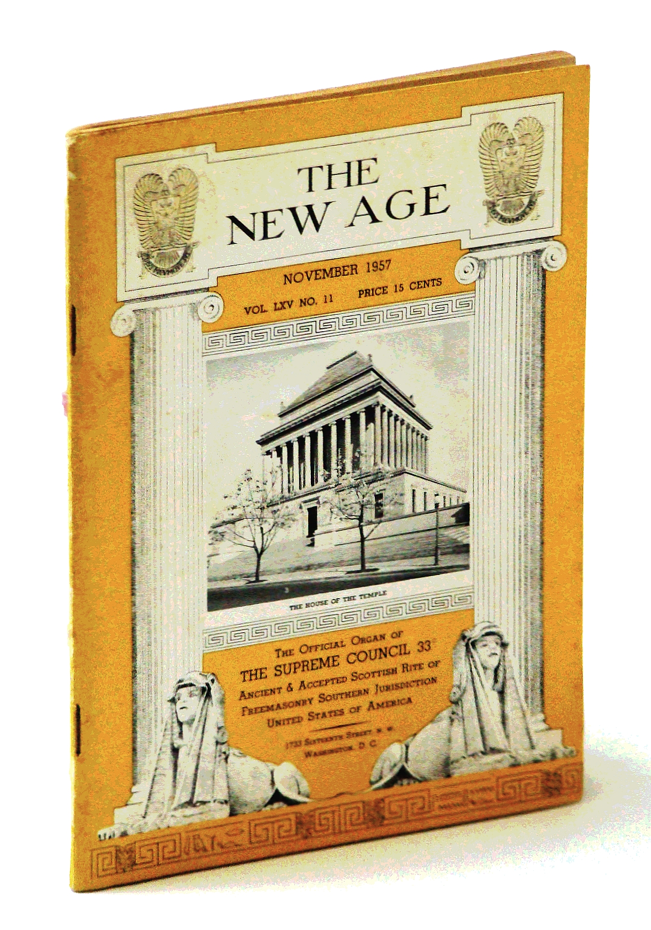 Image for The New Age [Magazine], November [Nov.] 1957, Volume LXV, Number 11 -  Immigration Act Revision