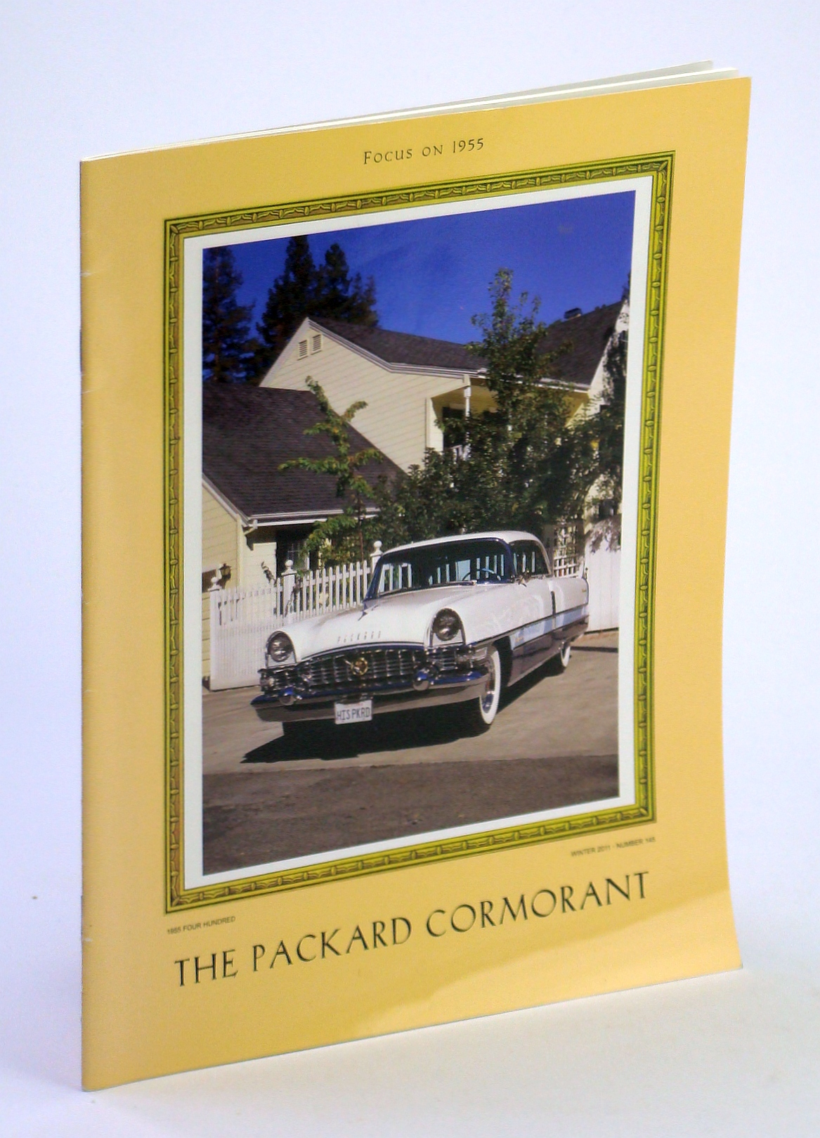 Image for The Packard Cormorant - The International Magazine of Packard Automobile Classics, Winter 2011 - Volume LVIII, Number 4 - Focus on 1955 / 1955 Four Hundred Cover Photo