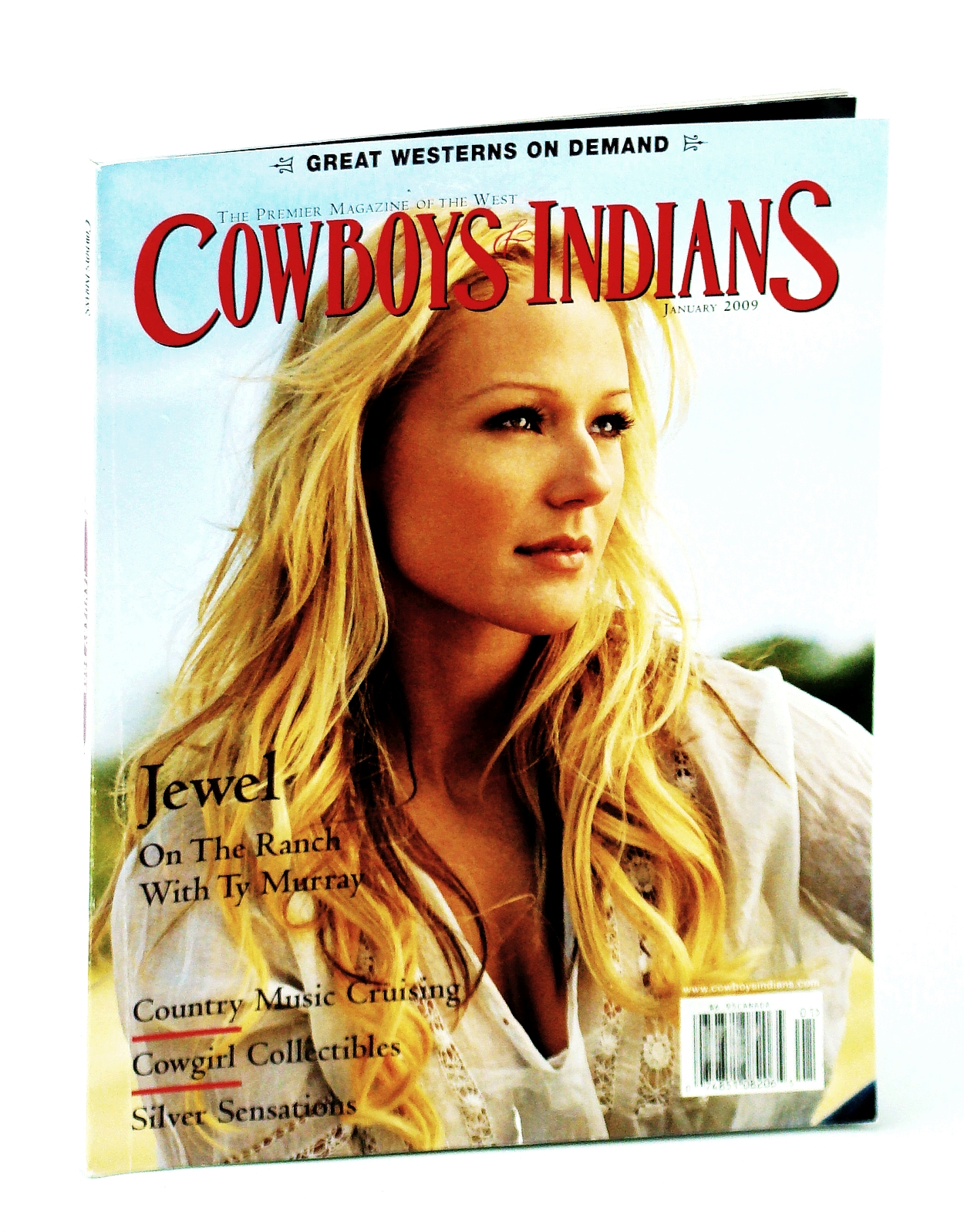 Image for Cowboys and Indians - The Premier Magazine of the West, January [Jan] 2009 - Jewel Cover Photo