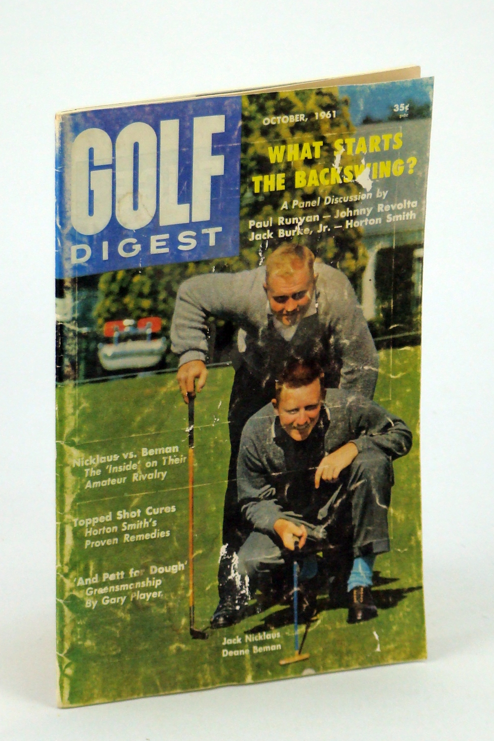 Image for Golf Digest - World's Largest Selling Golf Magazine, October [Oct.] 1961, Volume 12, No. 9 - Jack Nicklaus & Deane Beman Cover Photo