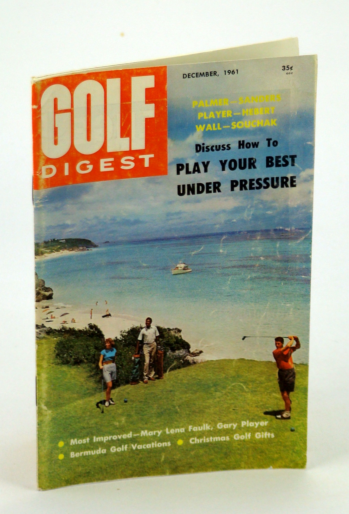 Image for Golf Digest - World's Largest Selling Golf Magazine, Decembere [Dec.] 1961, Volume 12, No. 11 - Bermuda Cover Photo