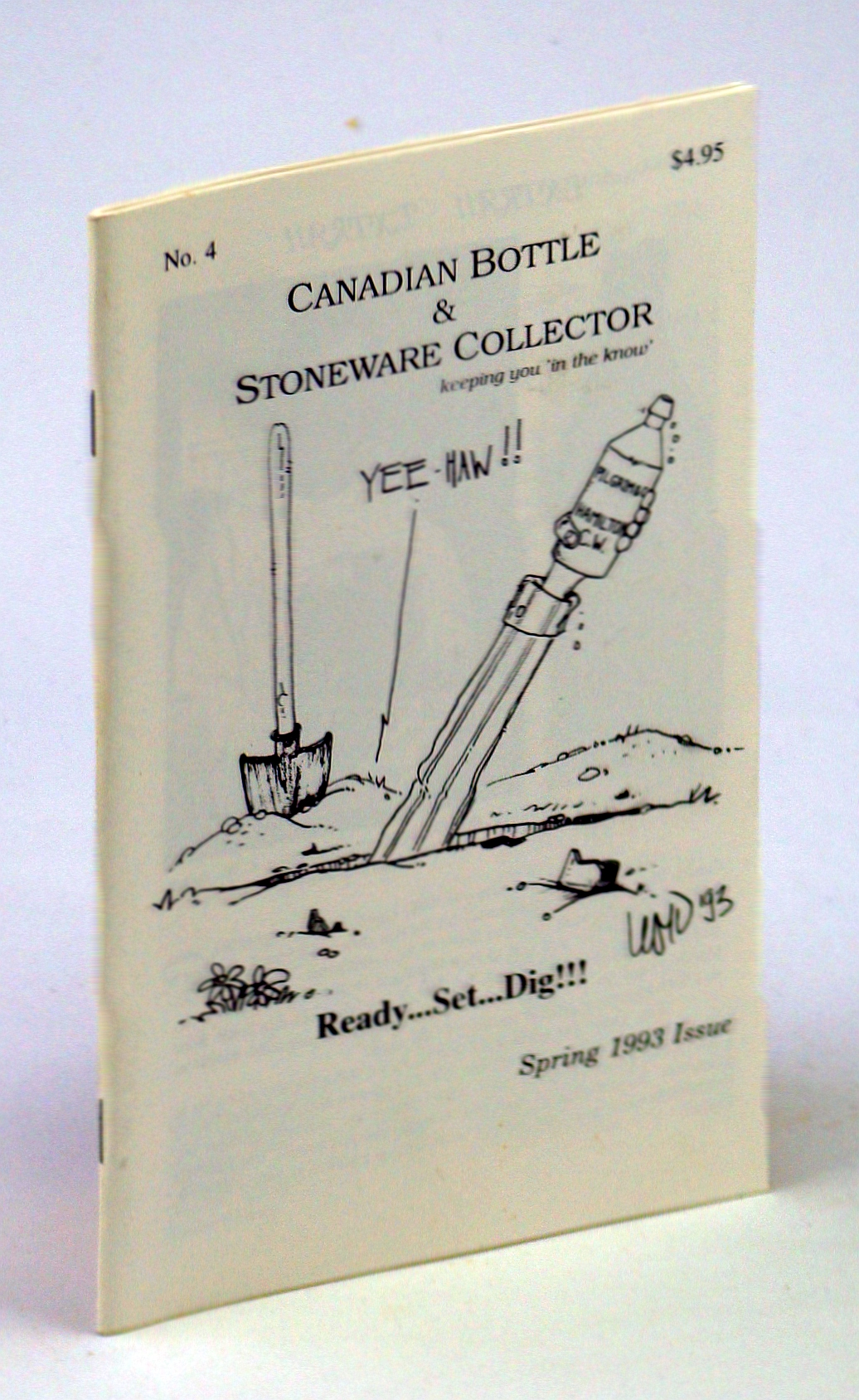 Image for Canadian Bottle & Stoneware Collector, No. 4, April/May/June, Spring 1993