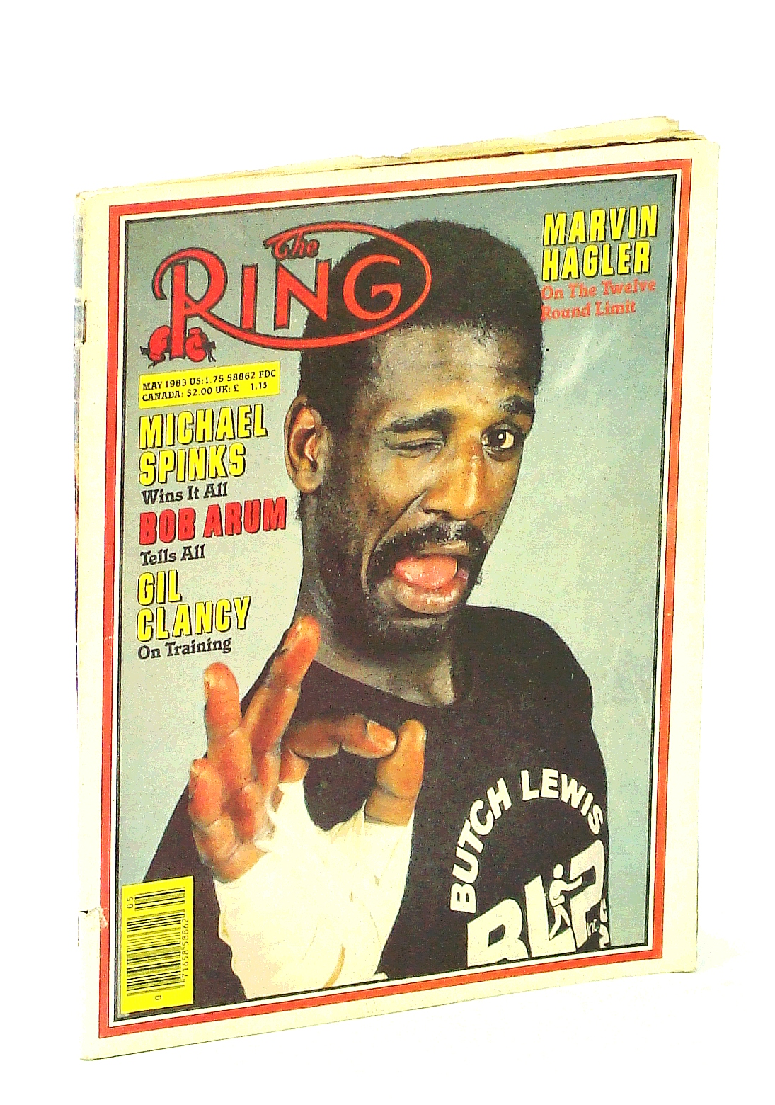 Image for The Ring [Magazine] - The Bible of Boxing, May 1983 - Michael Spinks Cover Photo