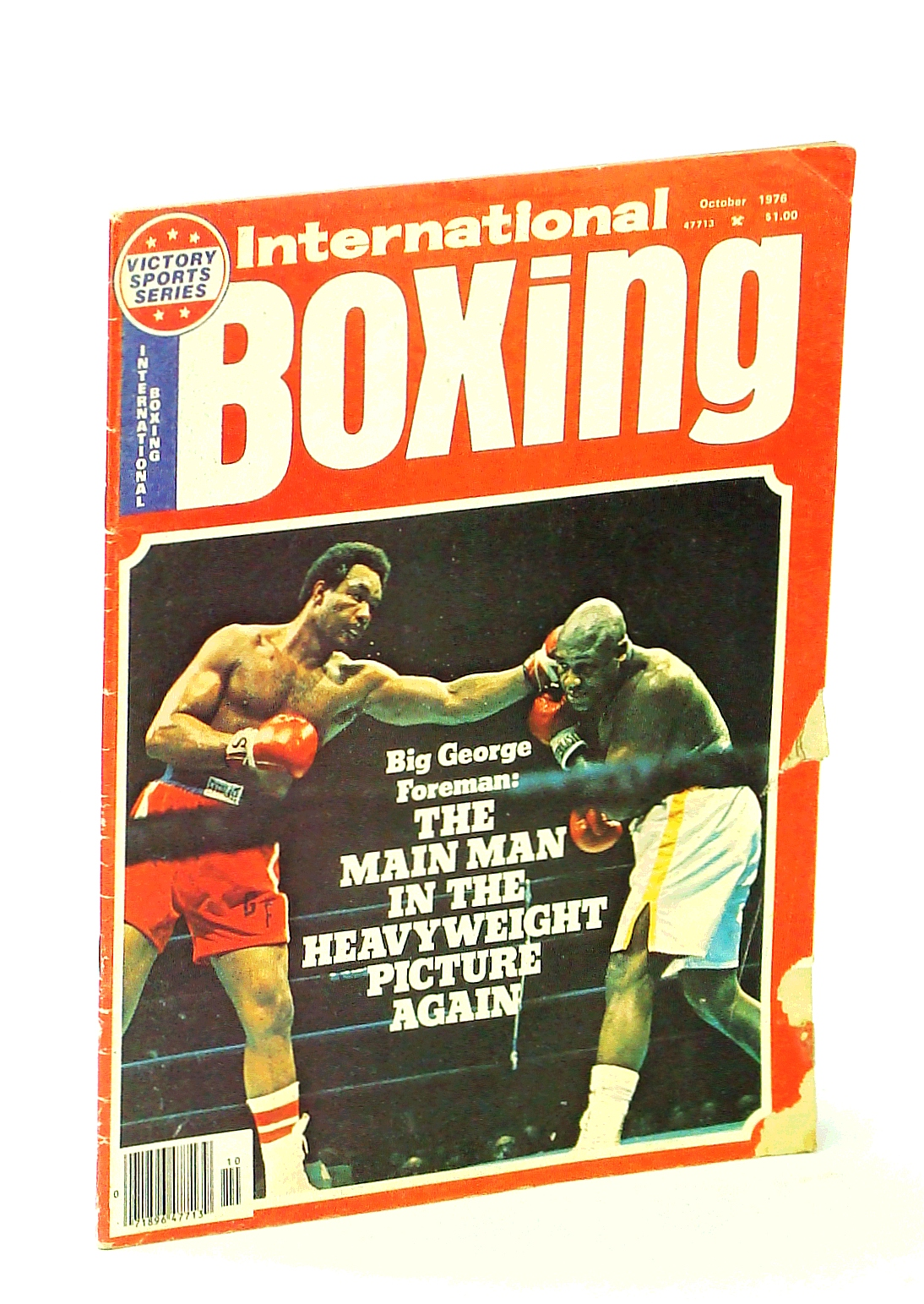 Image for International Boxing [Magazine], October 1976 - George Foreman Cover Photo
