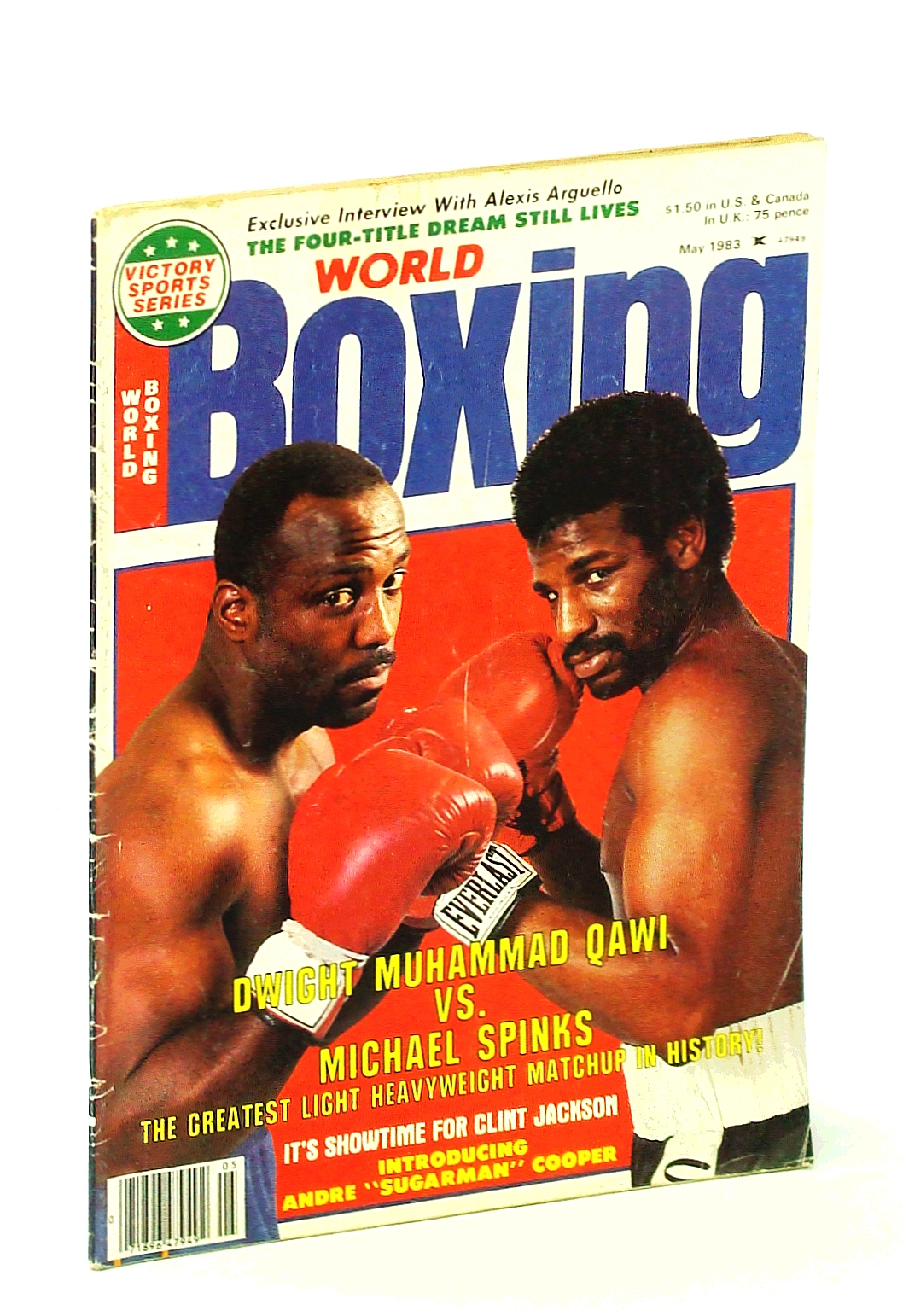 Image for World Boxing [Magazine], May 1983 - Dwight Muhammad Qawi Vs. Michael Spinks Cover Photo