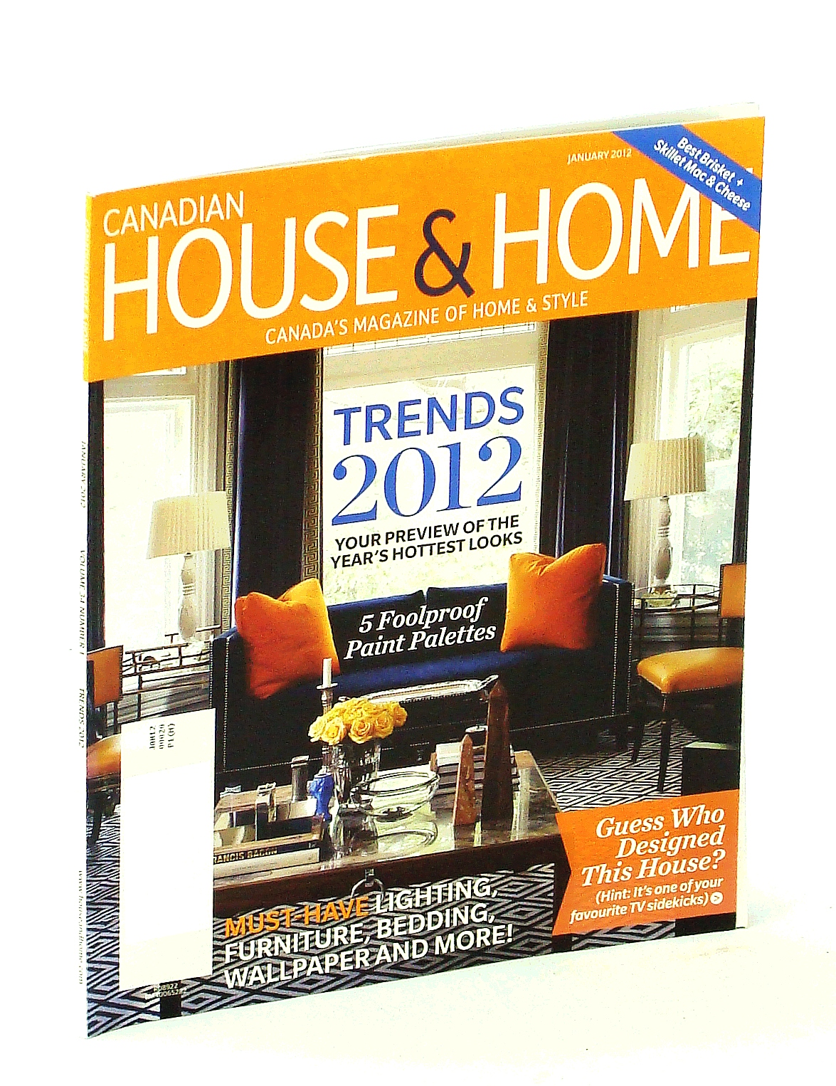 Image for Canadian House & Home - Canada's Magazine of Home & Style, January [Jan.] 2012 - Trends 2012