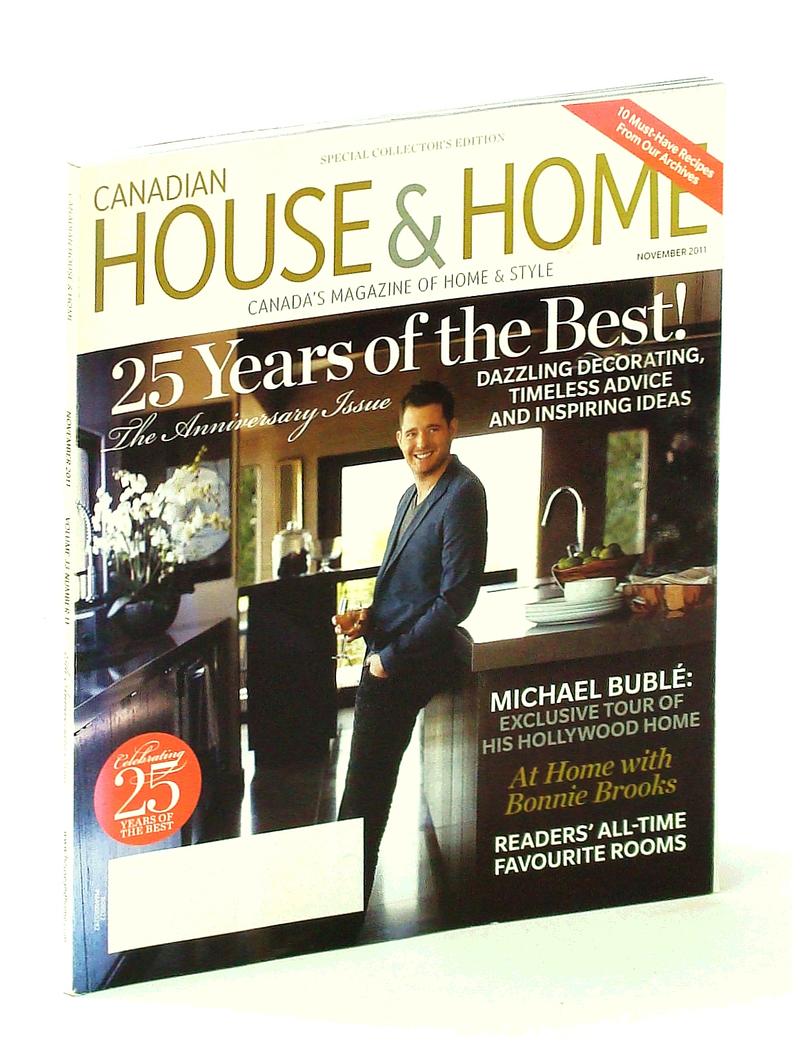 Image for Canadian House & Home - Canada's Magazine of Home & Style, November [Nov.] 2011 - Tour Michael Buble's Hollywood Home