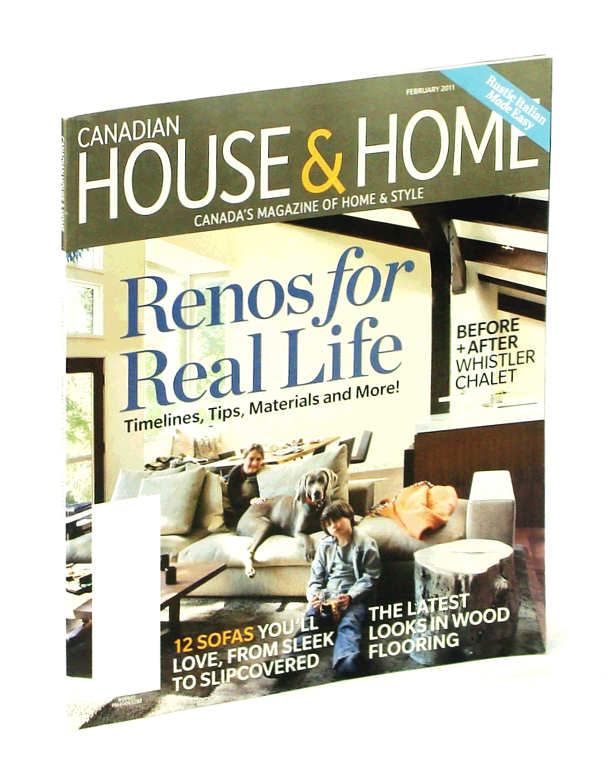 Image for Canadian House & Home - Canada's Magazine of Home & Style, February [Feb.] 2011: Renos For Real Life