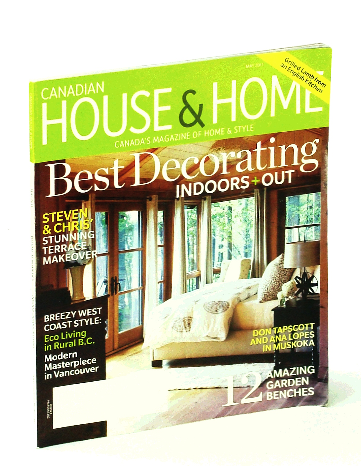 Image for Canadian House & Home - Canada's Magazine of Home & Style, May 2011: Best Decorating Indoors and Out