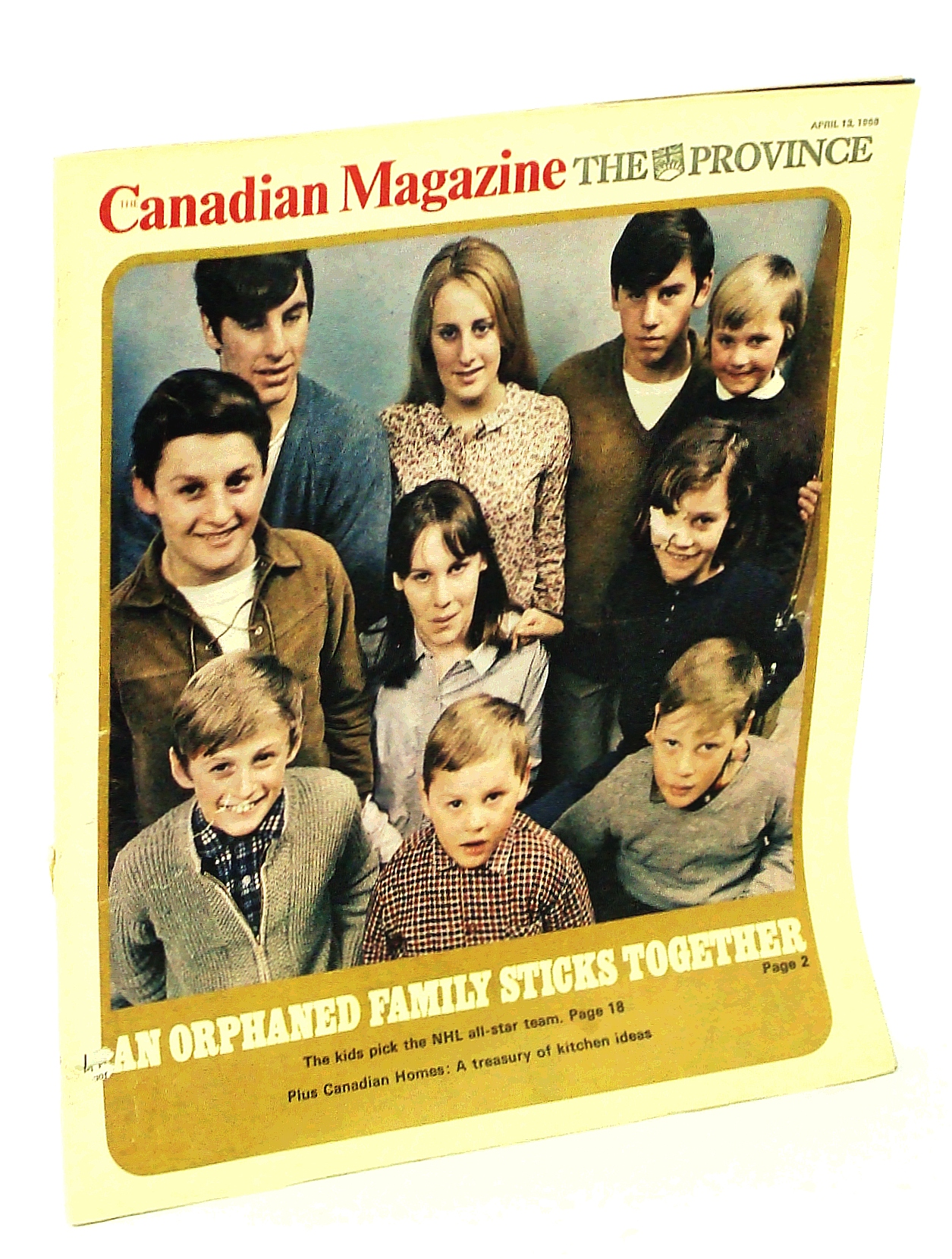 Image for Canadian Magazine, April 13, 1968: The Ten Orphaned Macdonald Children of Cape Breton