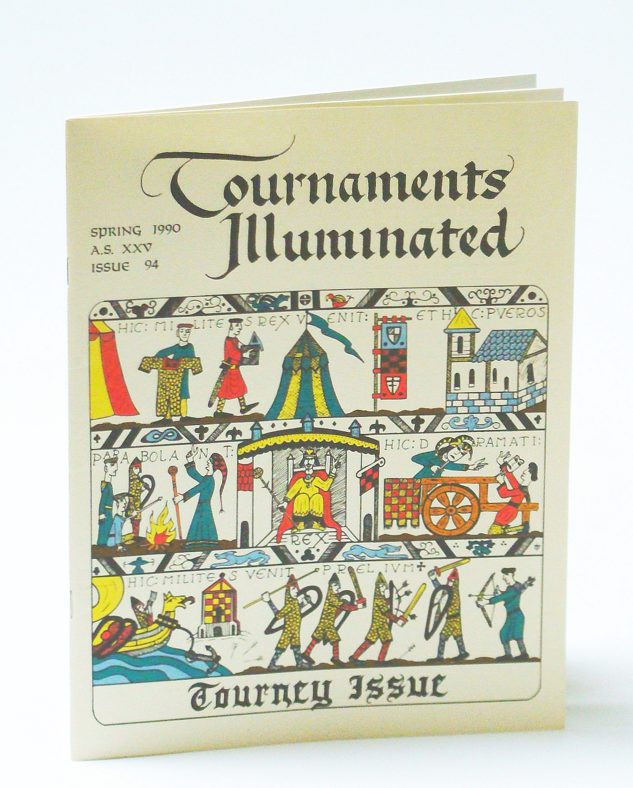 Image for Tournaments Illustrated, Spring 1990, A.S. XXV, Issue 94 - Tourney Issue